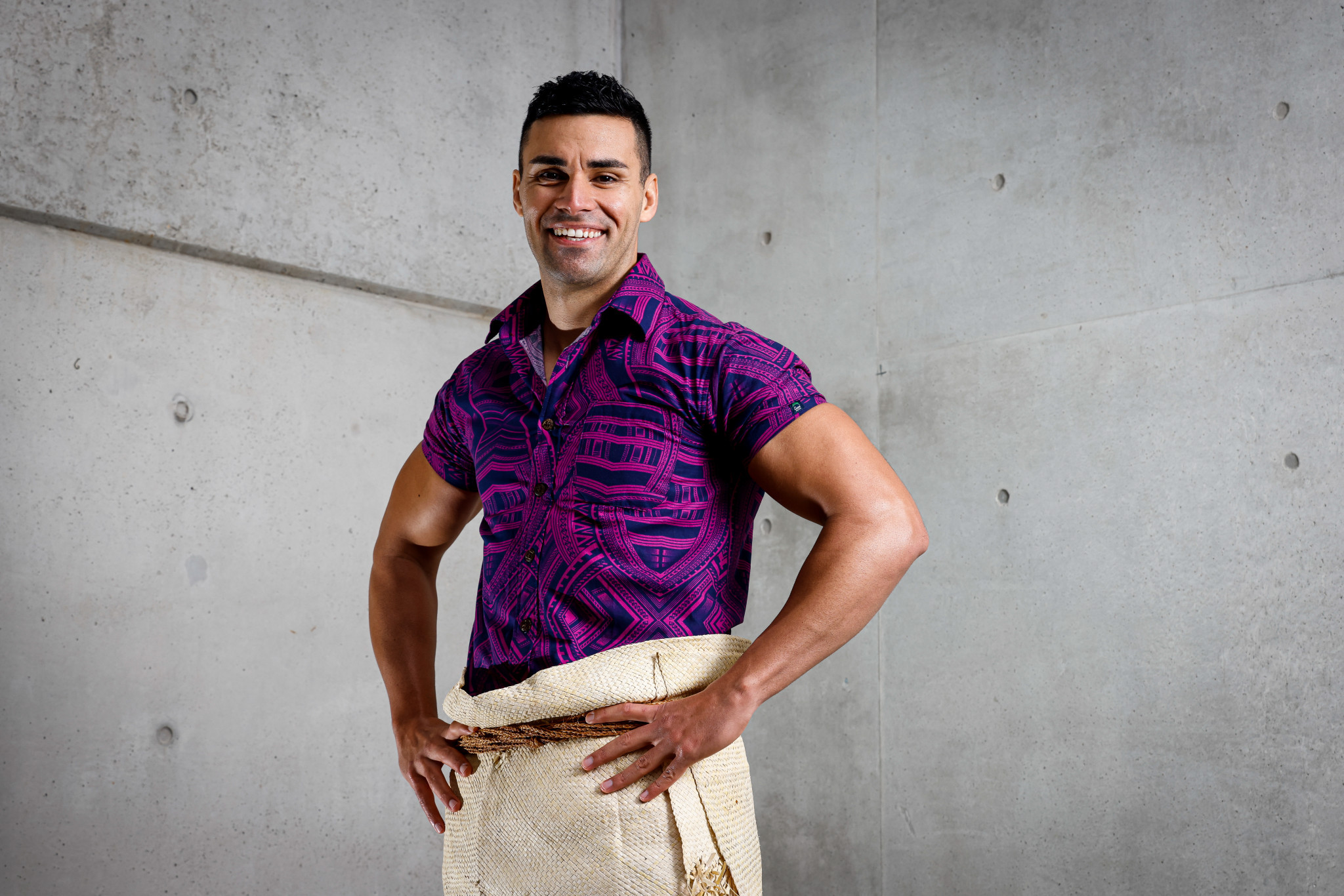 Taufatofua claims fame was not his aim as Tongan prepares for third successive Olympics