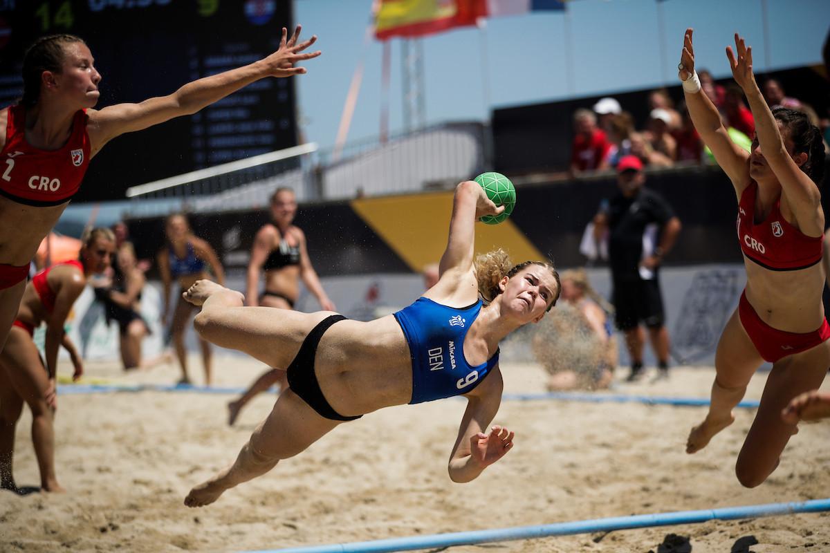 Denmark's defending men's and women's champions riding high at European Beach Handball Championships