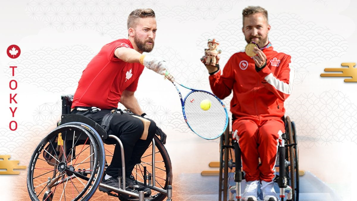 Wheelchair tennis player Rob Shaw will be making his Paralympic debut at Tokyo 2020 ©Canadian Paralympic Committee