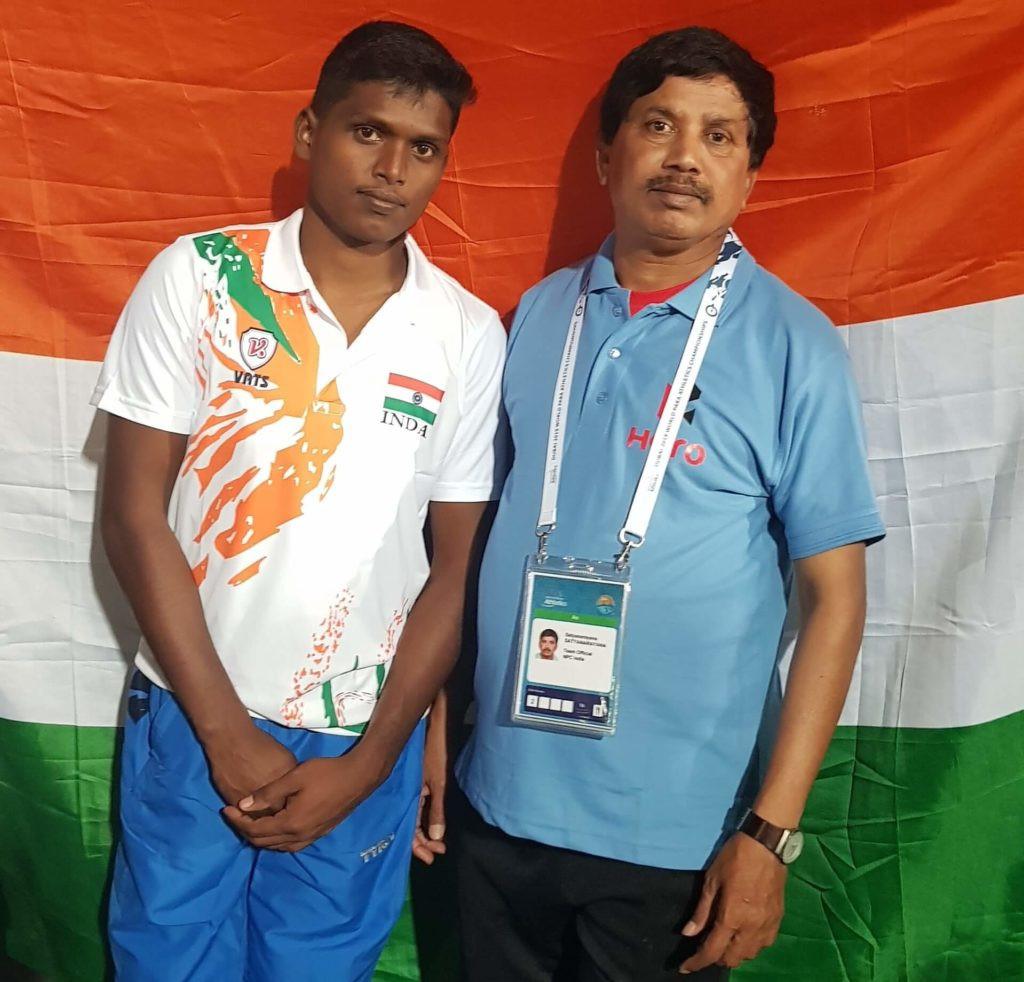 High jumper Thangavelu chosen as India's flagbearer for Tokyo 2020 Paralympics
