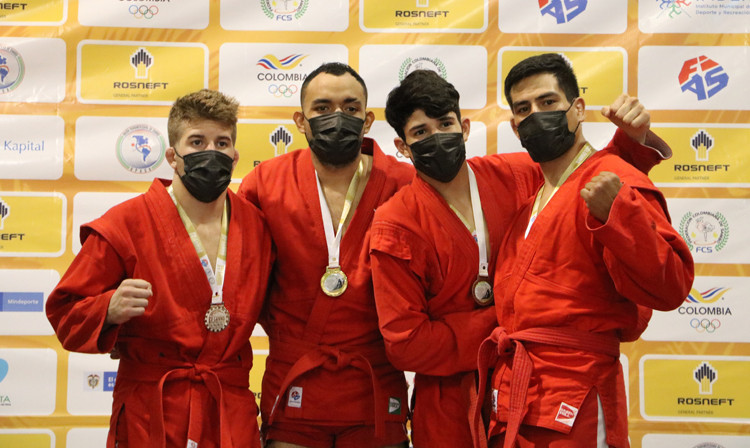 Montoya strikes gold for hosts Colombia at Pan American Sambo Championships