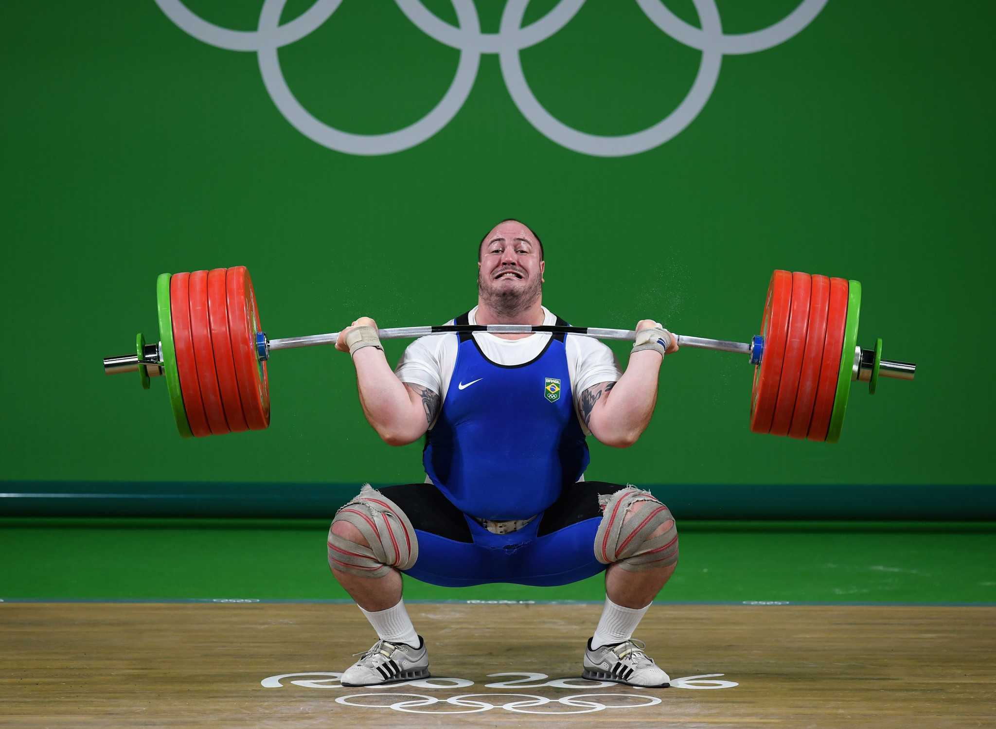 Brazil's Fernando Reis competed at both the London 2012 and Rio 2016 Olympic Games and would have been a medal contender in the 109kg category at Tokyo 2020 ©Getty Images