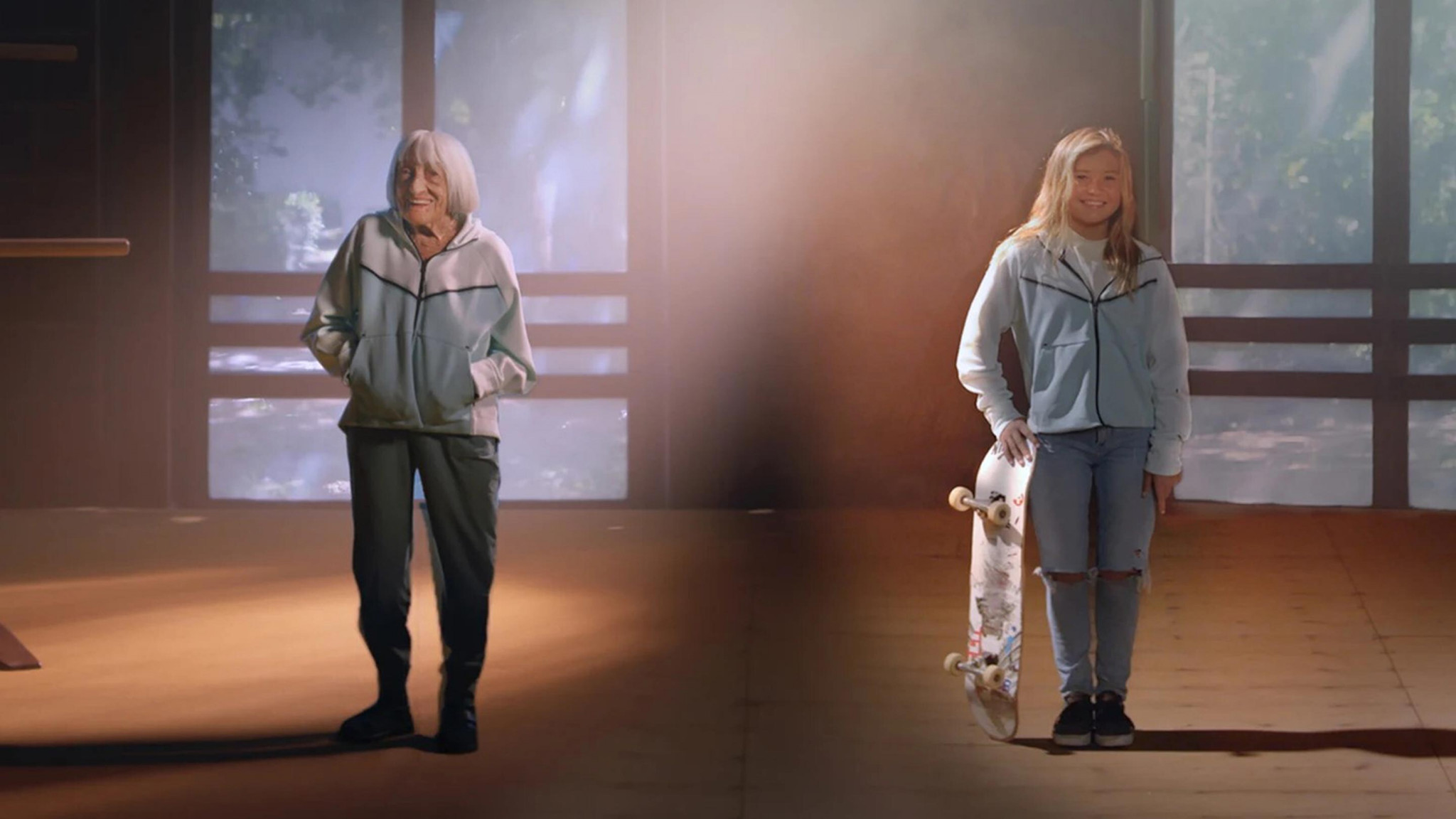 Olympians aged 100 and 13 feature in new IOC film