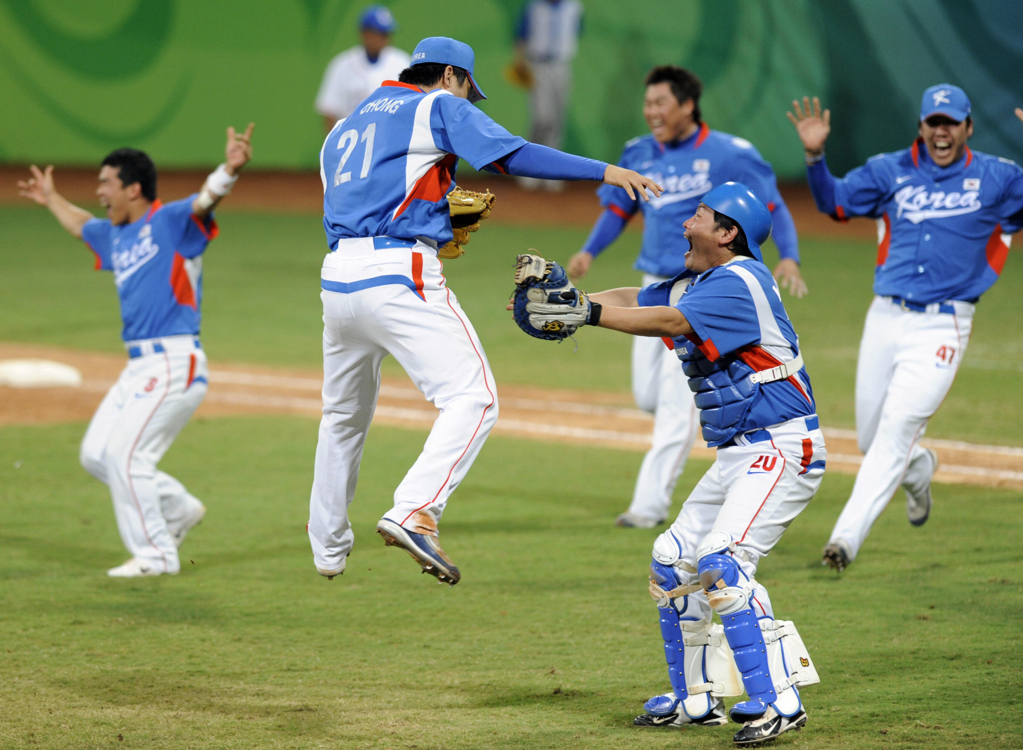 South Korea are the reigning Olympic baseball champions after they won gold at Beijing 2008, before the sport was removed from the programme ©Getty Images