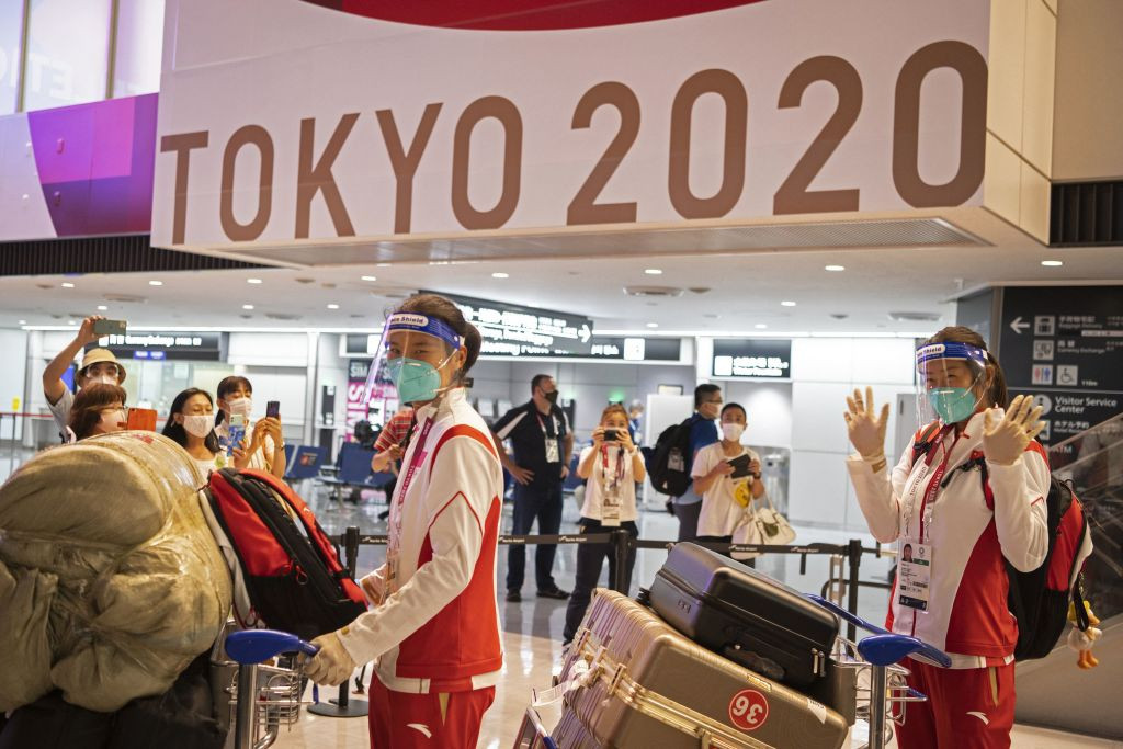 Athletes have begun to arrive in their droves for the Tokyo 2020 Olympics ©Getty Images