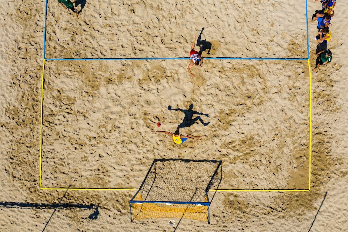 Denmark's defending men's and women's champions both reached their gold medal matches tomorrow at the European Beach Handball Championships in Varna, Bulgaria ©EHF