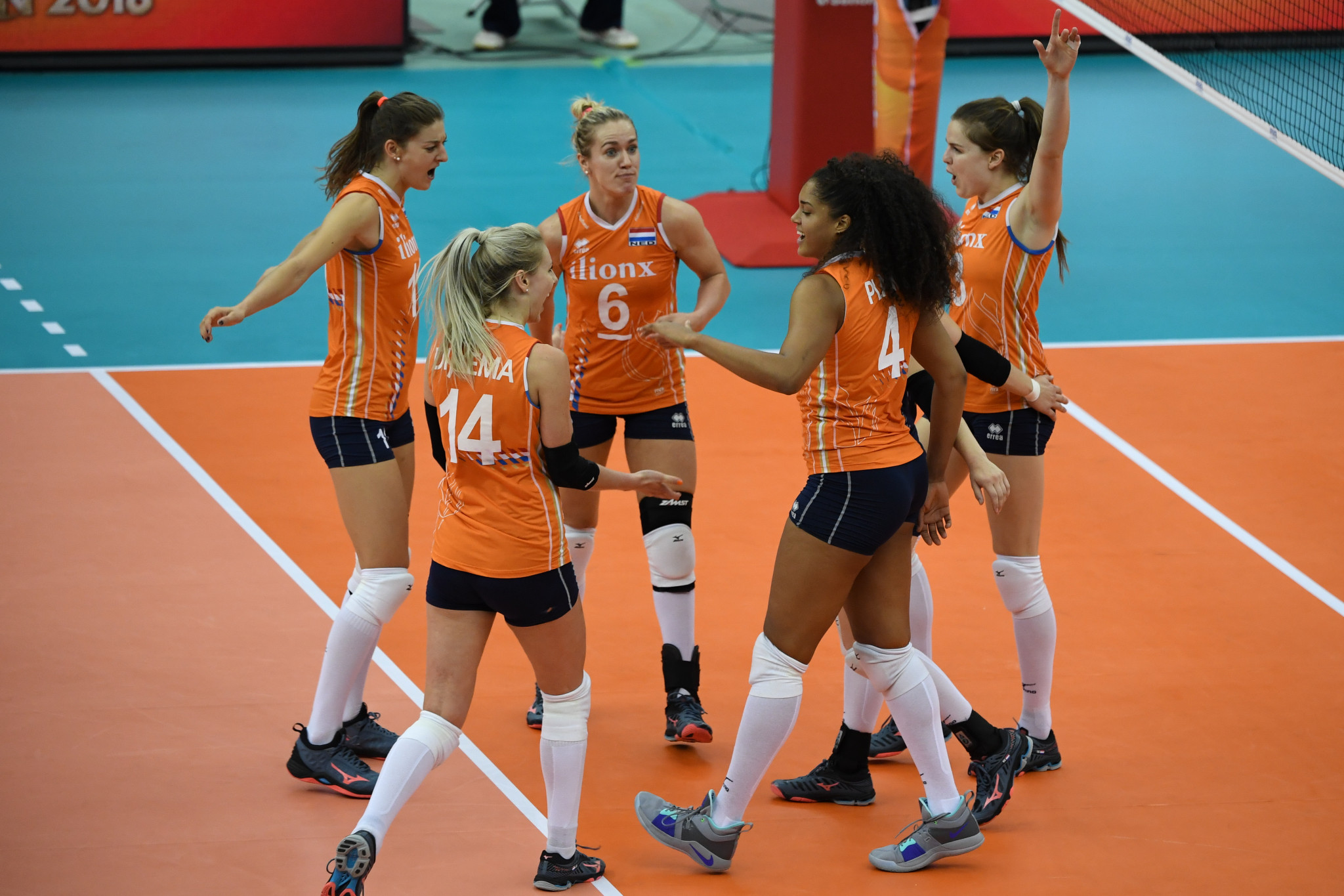 Co-hosts The Netherlands will take part in the third place playoff after being defeated by Serbia in the last four of the FIVB Women's Under-20 World Championship ©Getty Images