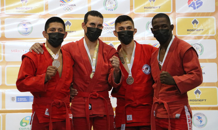 Venezuela claim four titles on day two of Pan American Sambo Championships