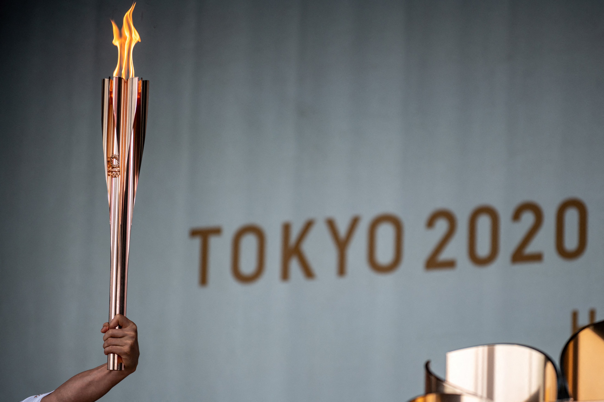 The Tokyo 2020 Torch Relay has been a low-key affair compared to other Games ©Getty Images