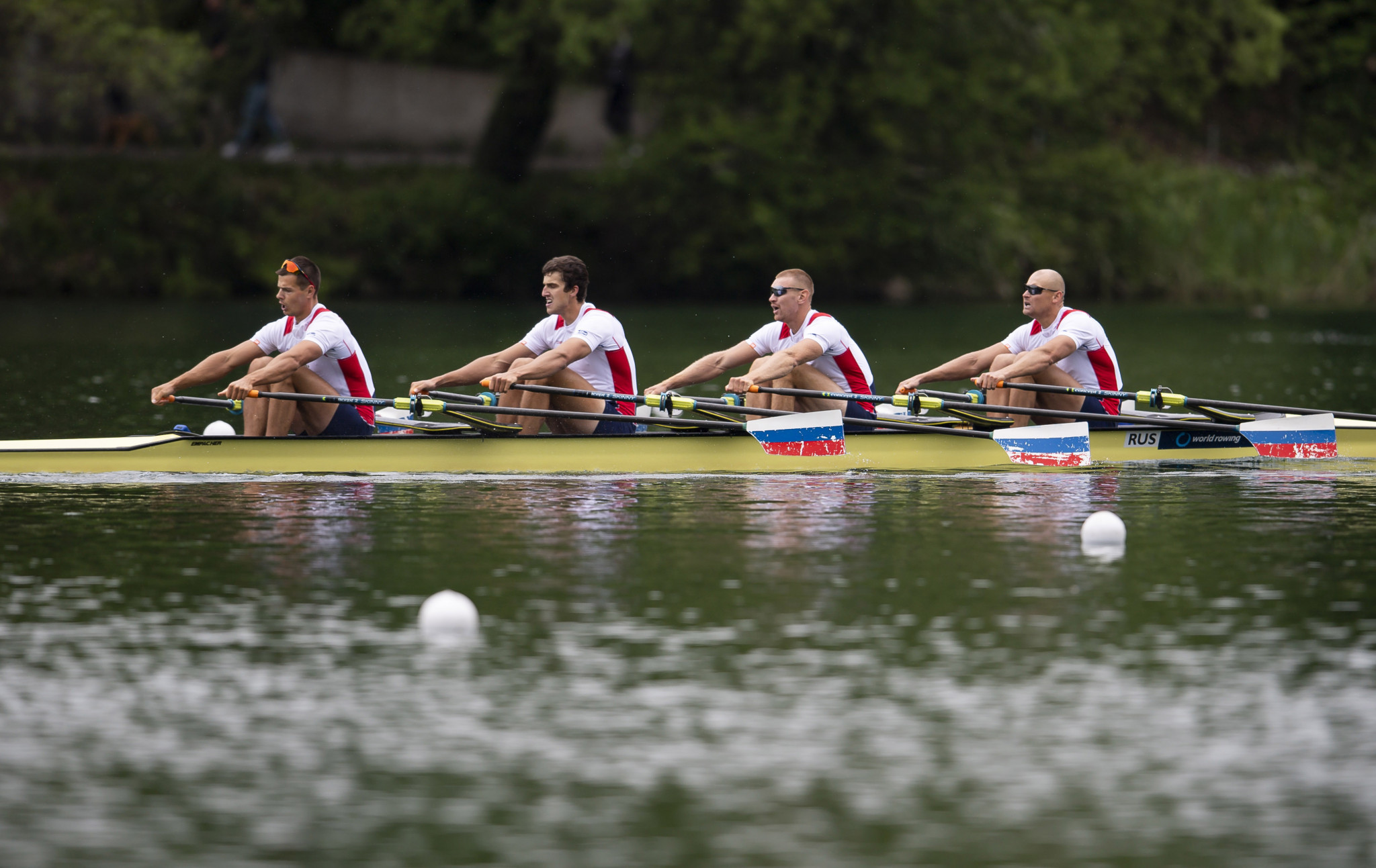 The Russian Rowing Federation deemed two substitutes not to be of Olympic standard ©Getty Images