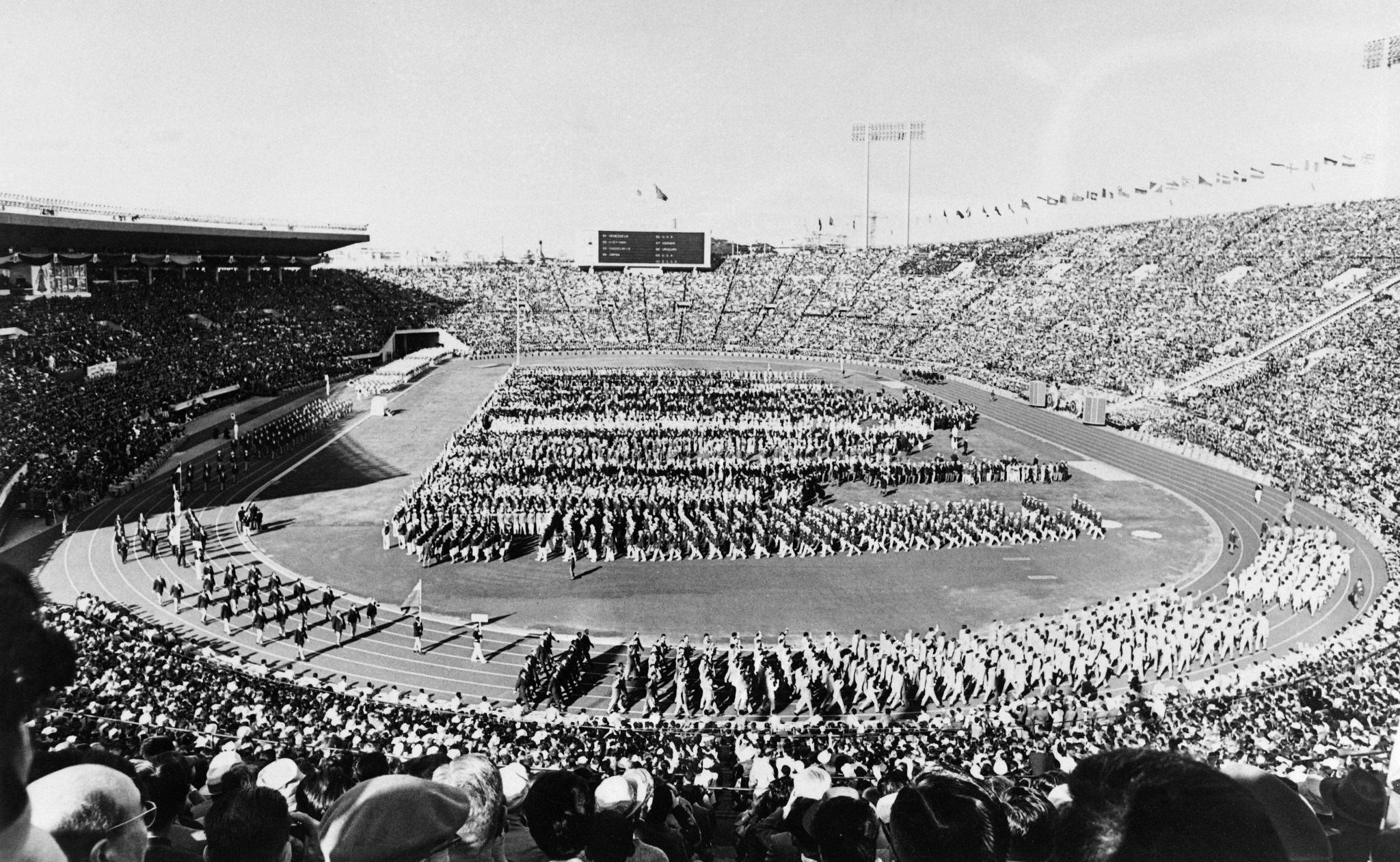 The Tokyo 1964 Olympics is being celebrated at a special exhibition being held at Japan House in London ©Getty Images