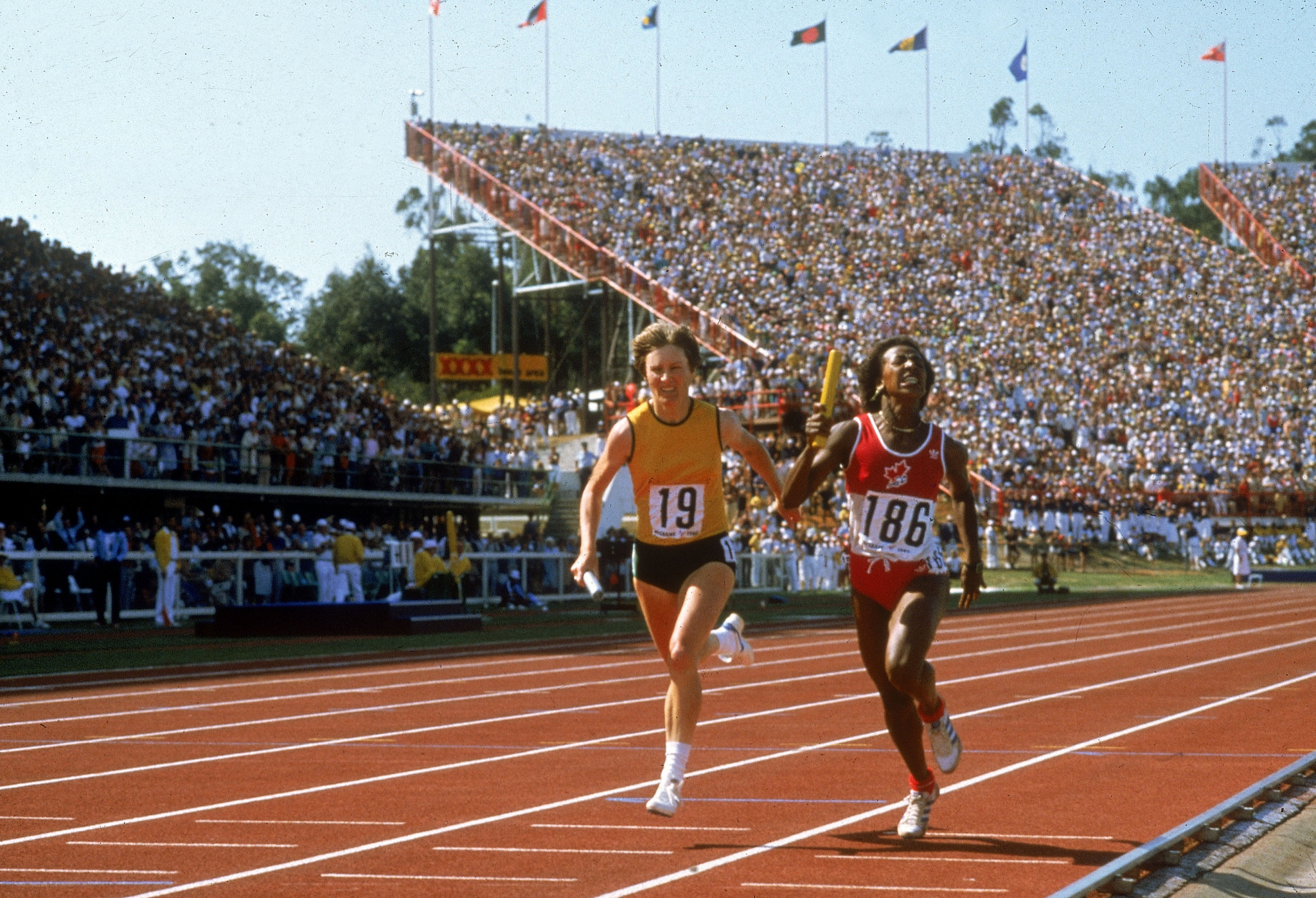 As part of Brisbane's bid for the 2032 Olympics, it pledged to use the QEII Stadium, which hosted athletics at the 1982 Commonwealth Games, as one of the venues ©Getty Images