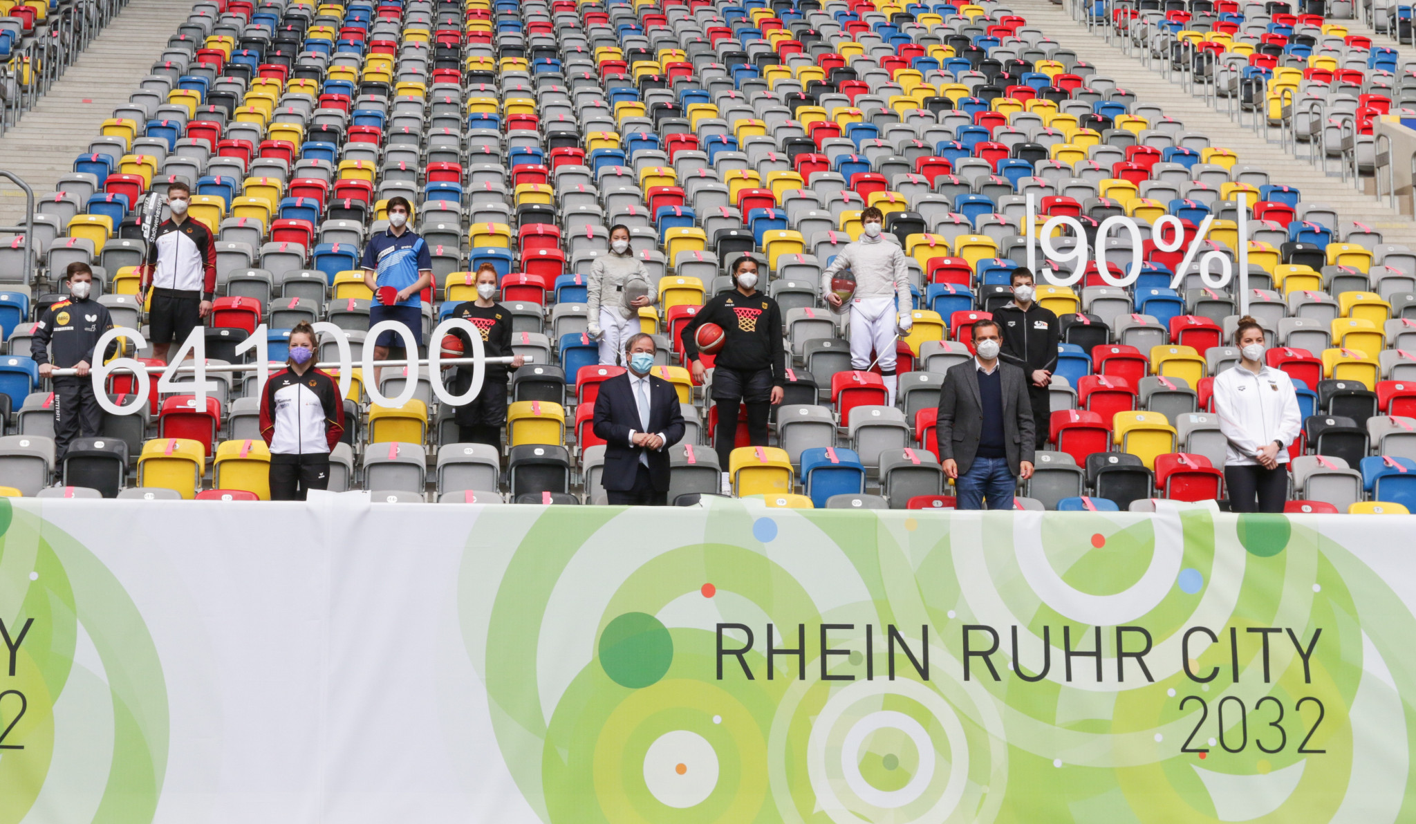 Rhein Ruhr was one of a host of other candidates that presented its case to host the 2032 Olympics ©Getty Images