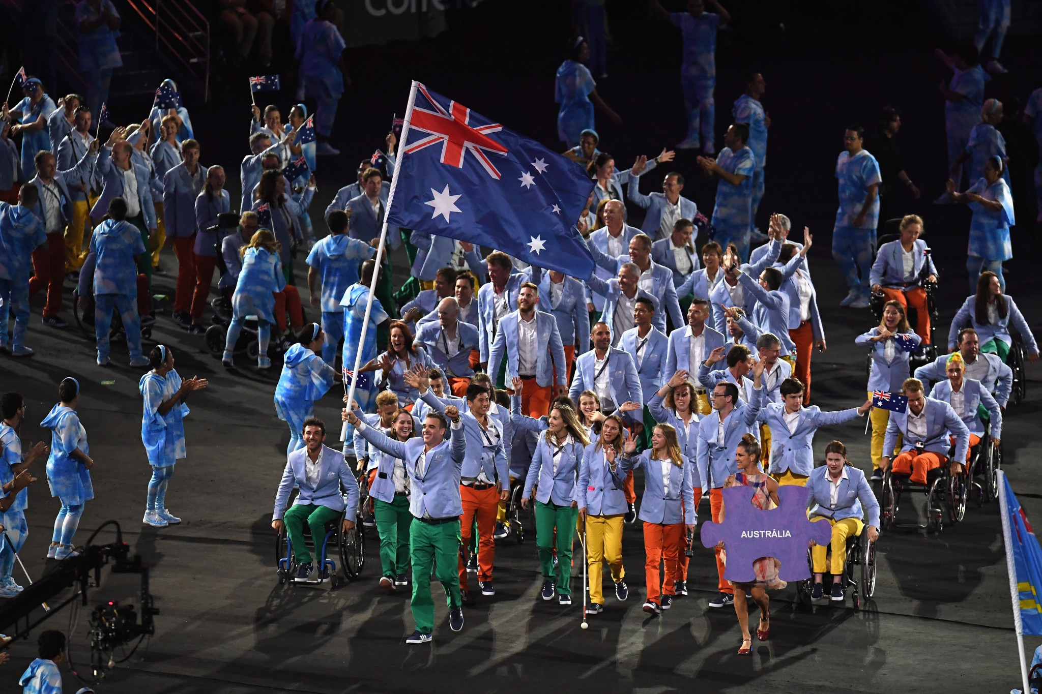 Anderson will still be part of the Australian team that travels to the Paralympics in Tokyo, having finished fifth in the final medals table at Rio 2016 ©Getty Images