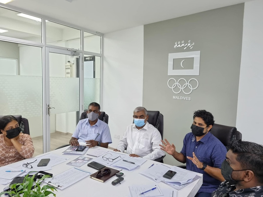 Maldives Olympic Committee appoints new secretary general and financial director