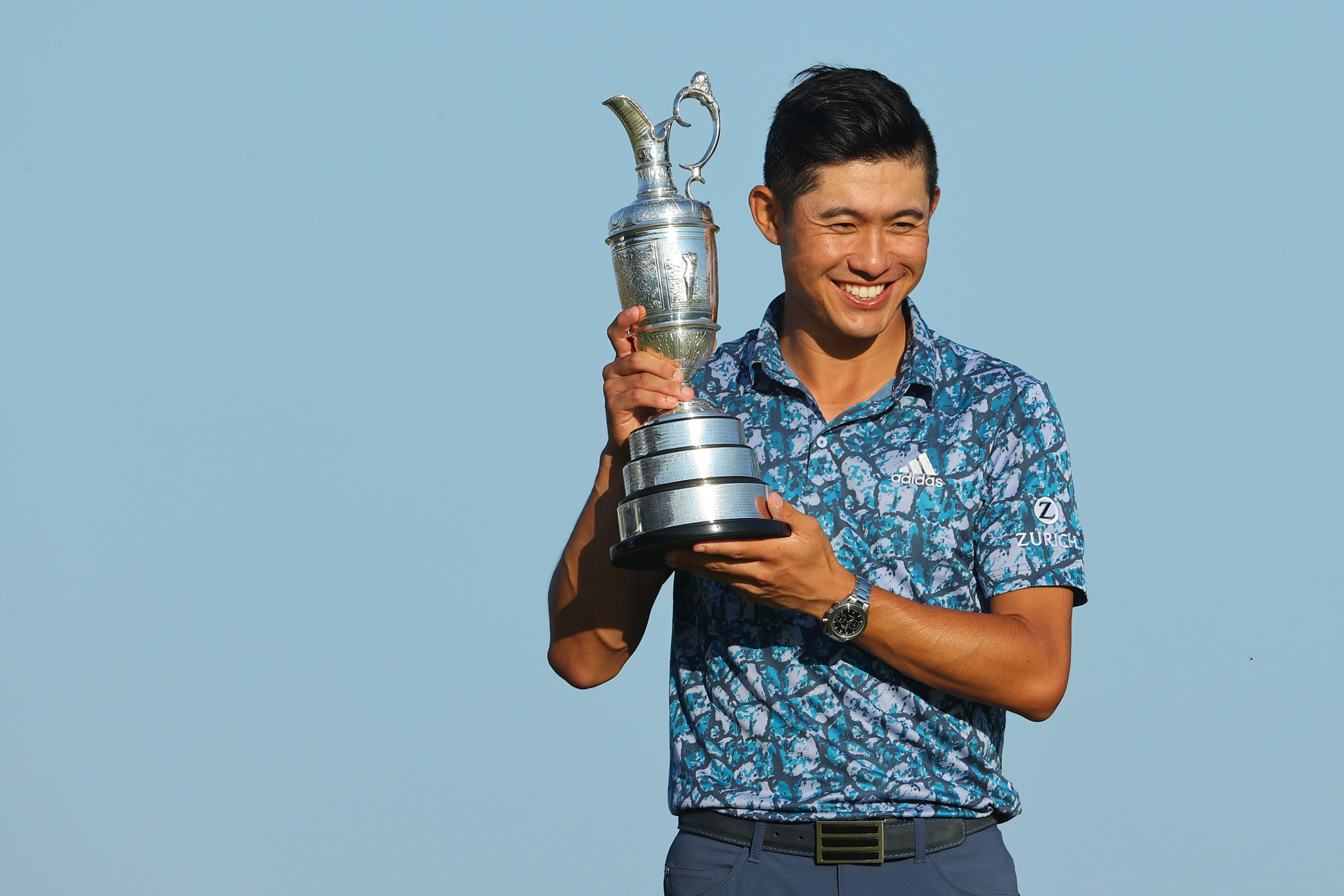 Record-breaking Morikawa fends off Spieth to win Open on debut