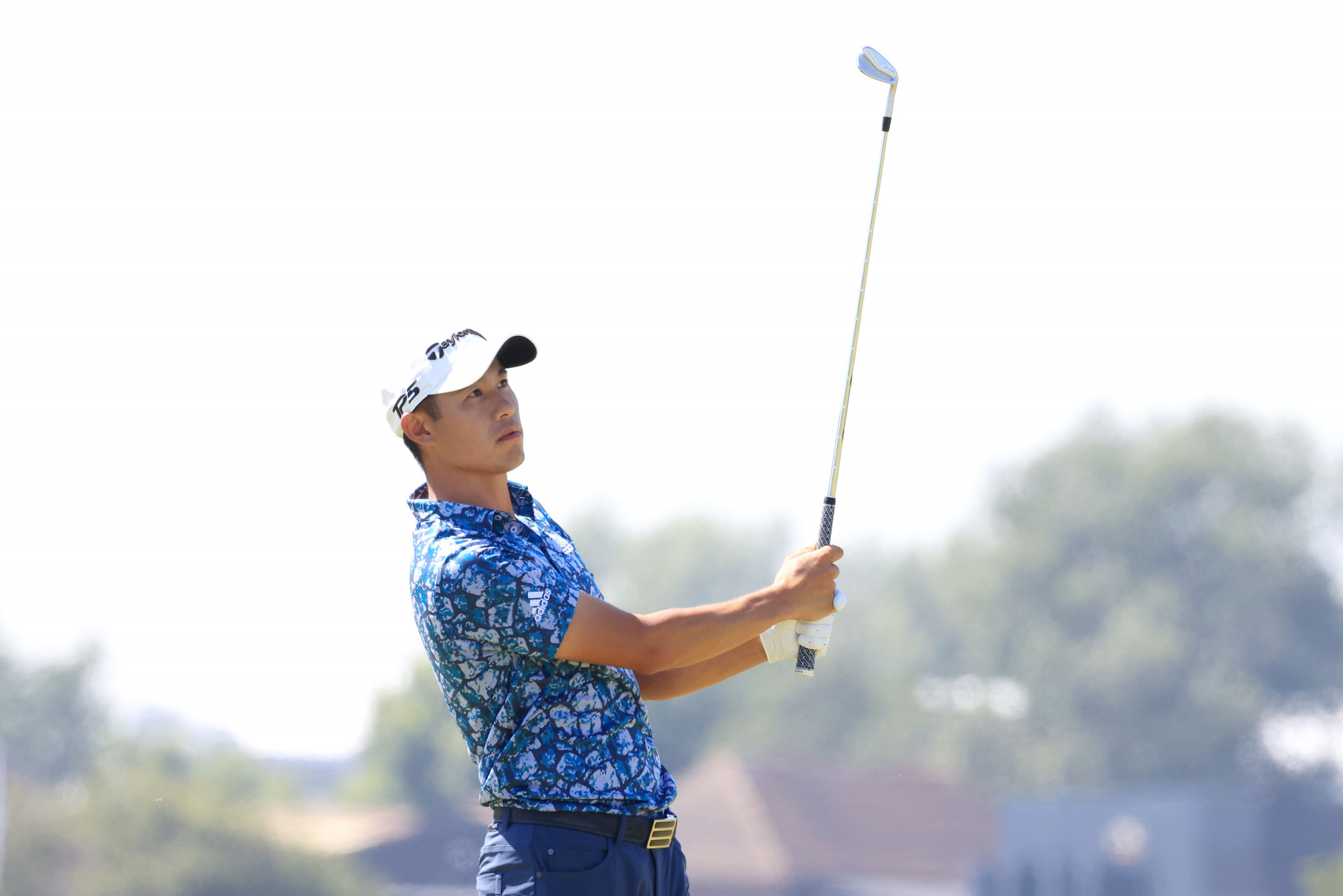 Collin Morikawa has won two of his eight major starts and is unquestionably now one of golf's biggest stars ©Getty Images