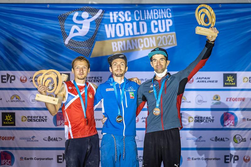 Stefano Ghisolfi now has six IFSC World Cup victories ©IFSC/Jan Virt