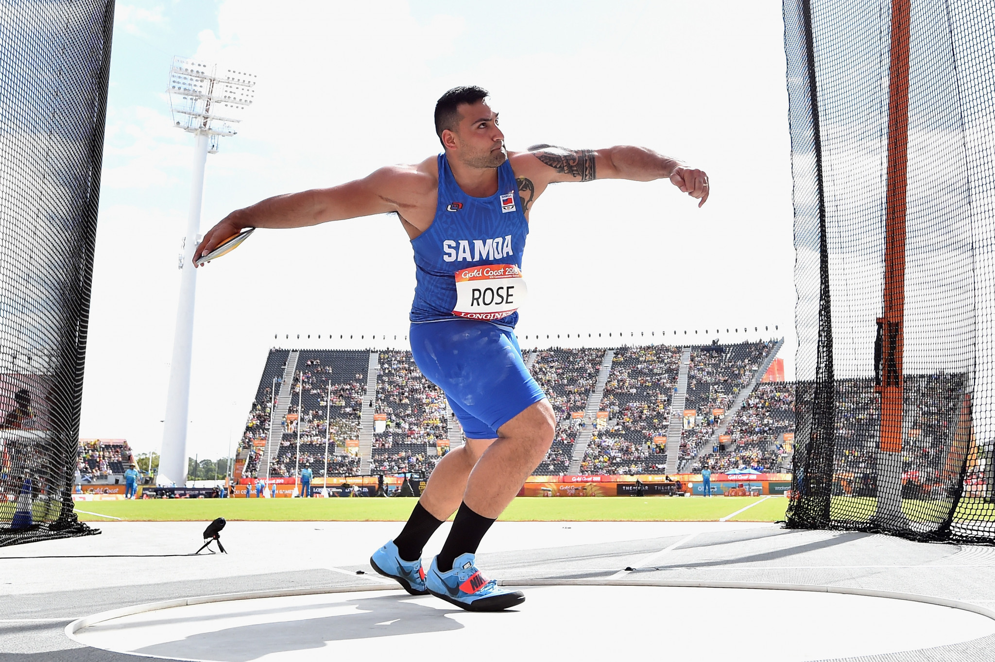 Discus thrower Alex Rose will be Samoa's flagbearer at Tokyo 2020 ©Getty Images