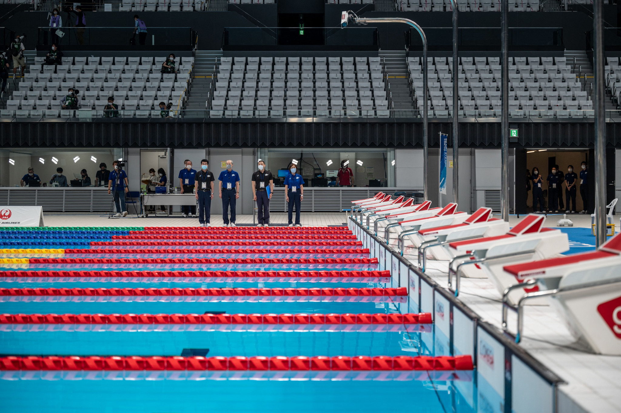 The Tokyo 2020 Olympics Games are due to open on July 23, with the swimming competition set to start a day later ©Getty Images