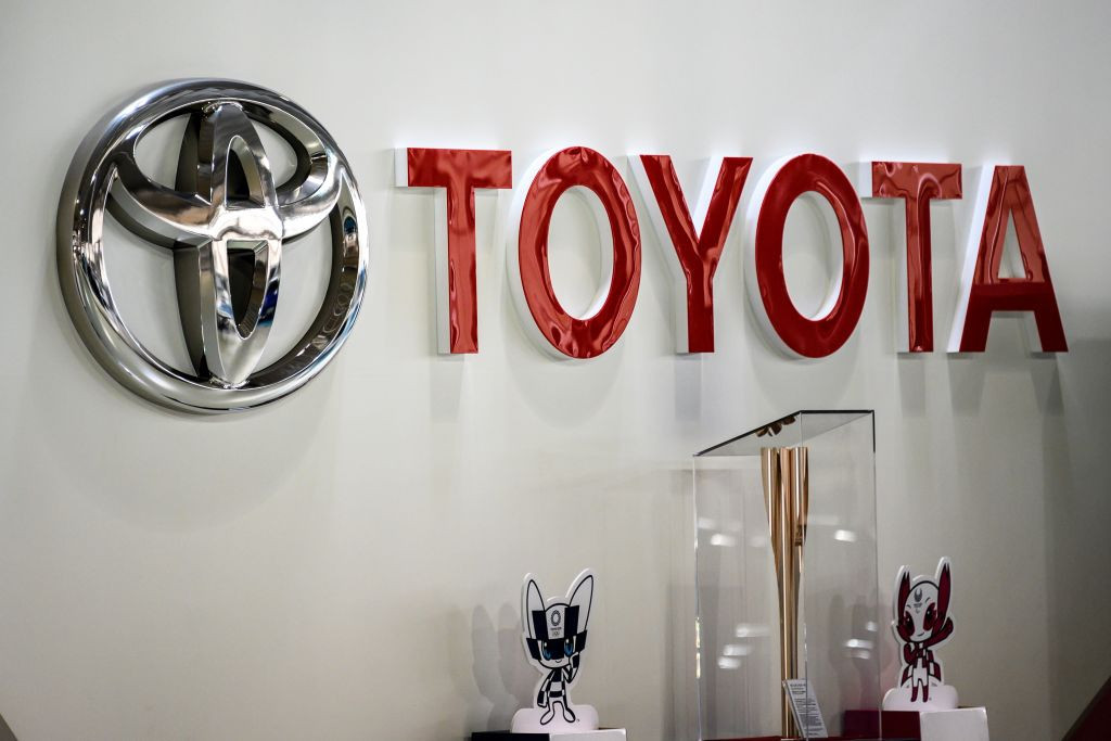 Toyota has withdrawn its Olympics-related adverts amid public concern over the Games ©Getty Images