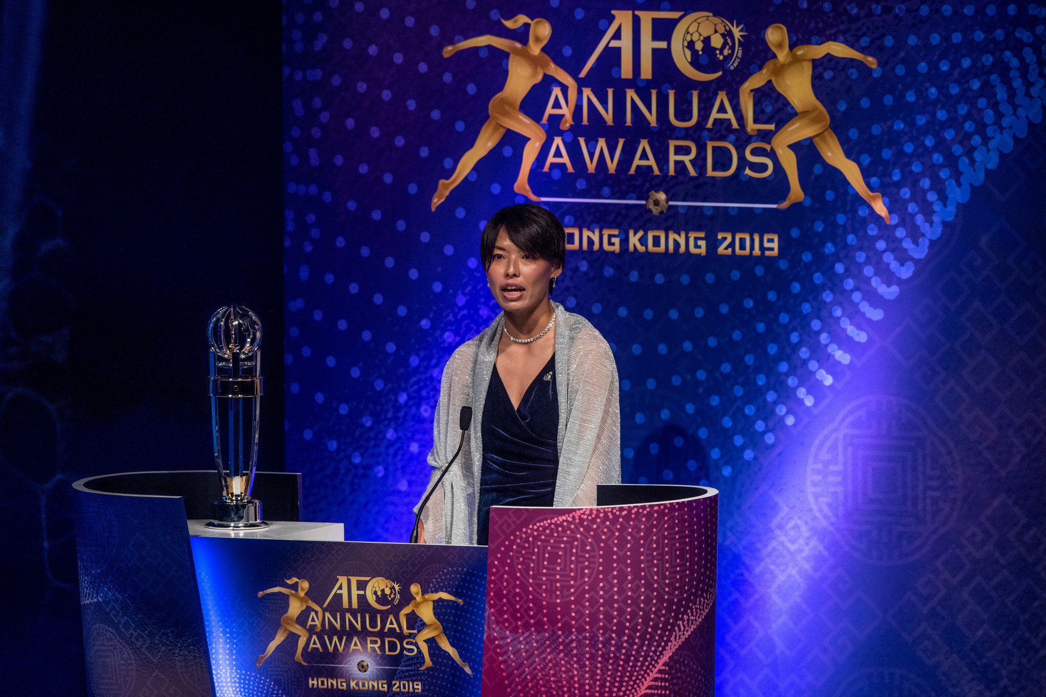 The AFC Annual Awards have not been held since 2019 in Hong Kong ©Getty Images