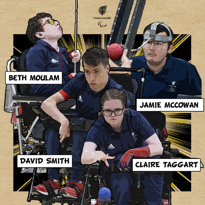 Reigning champion David Smith leads British boccia team with eyes on historic medal at Tokyo 2020