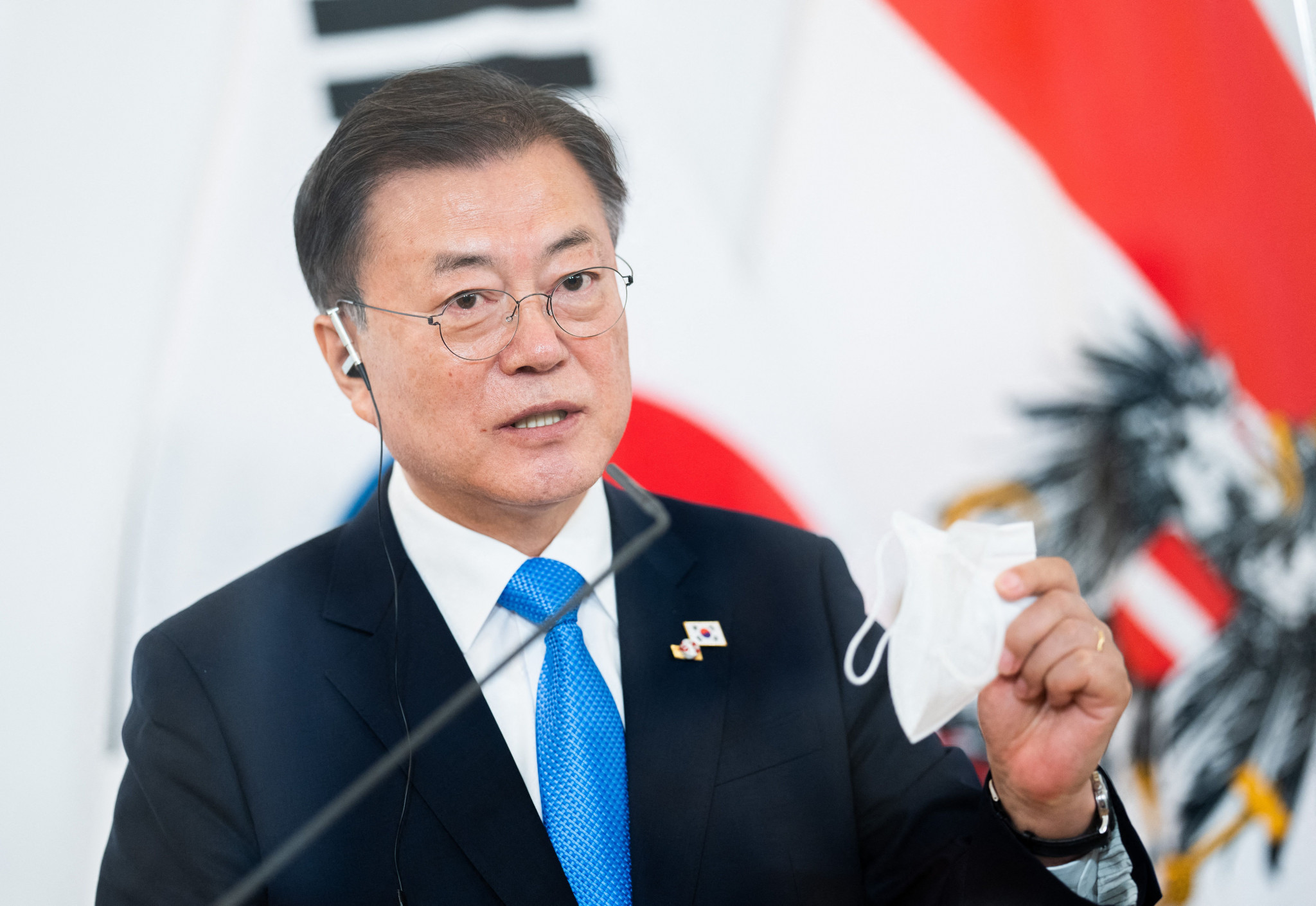 South Korean President Moon decides against Tokyo 2020 trip for summit