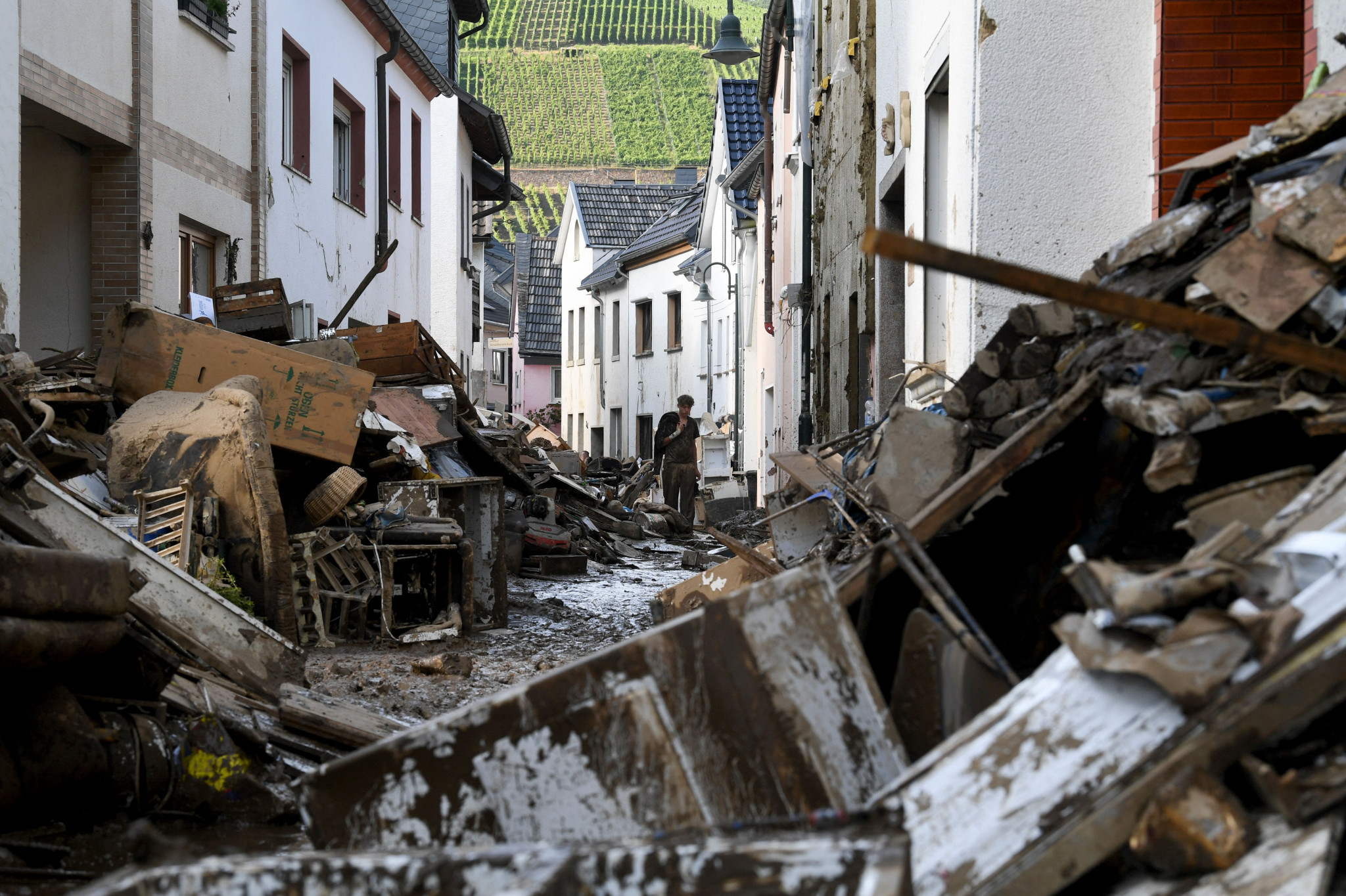 The floods are Germany's worst natural disaster since 1962 ©Getty Images