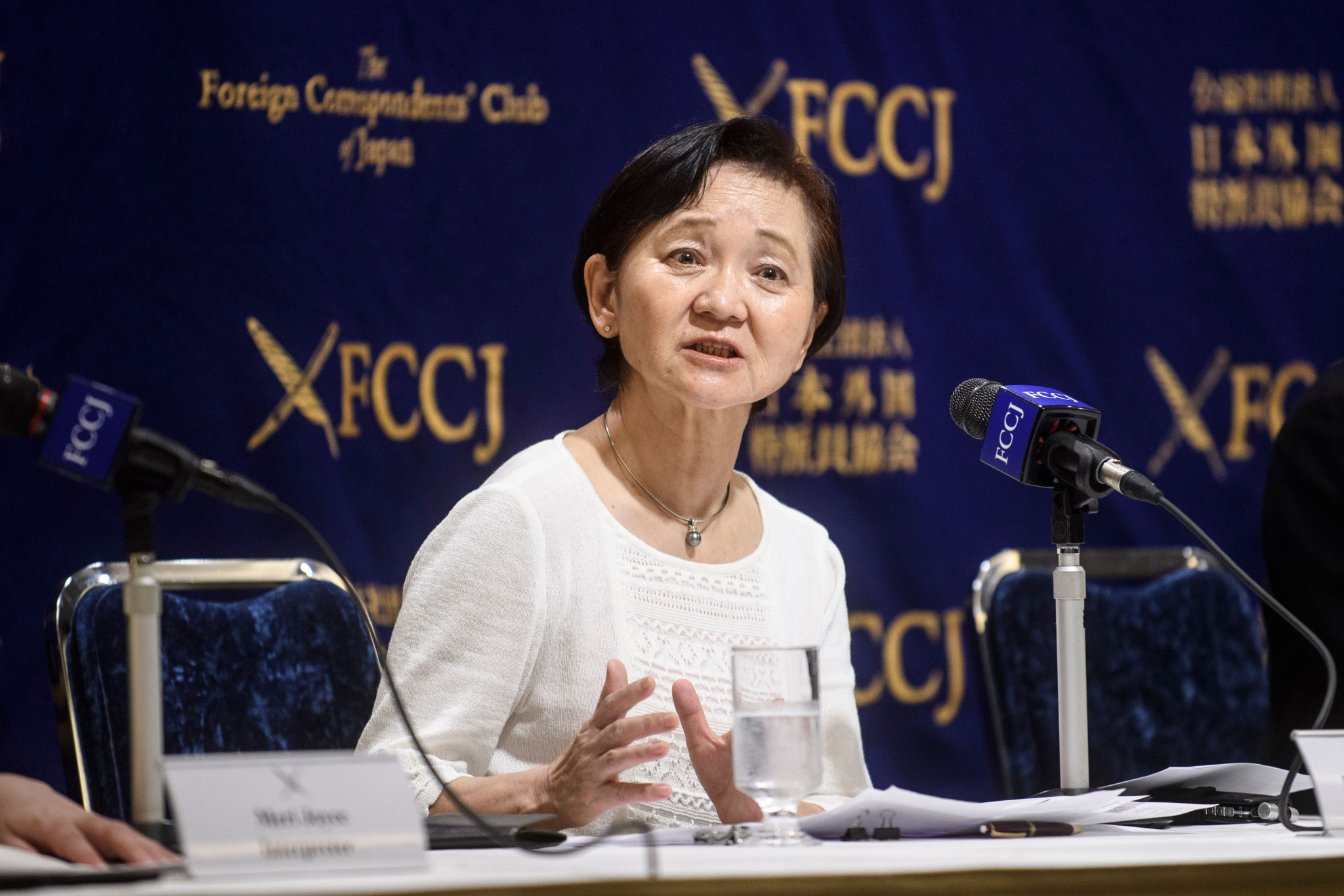 Keiko Kobayashi from the Japan Judo Accident Victims Association is pleading for change in attitudes towards corporal punishment ©Getty Images