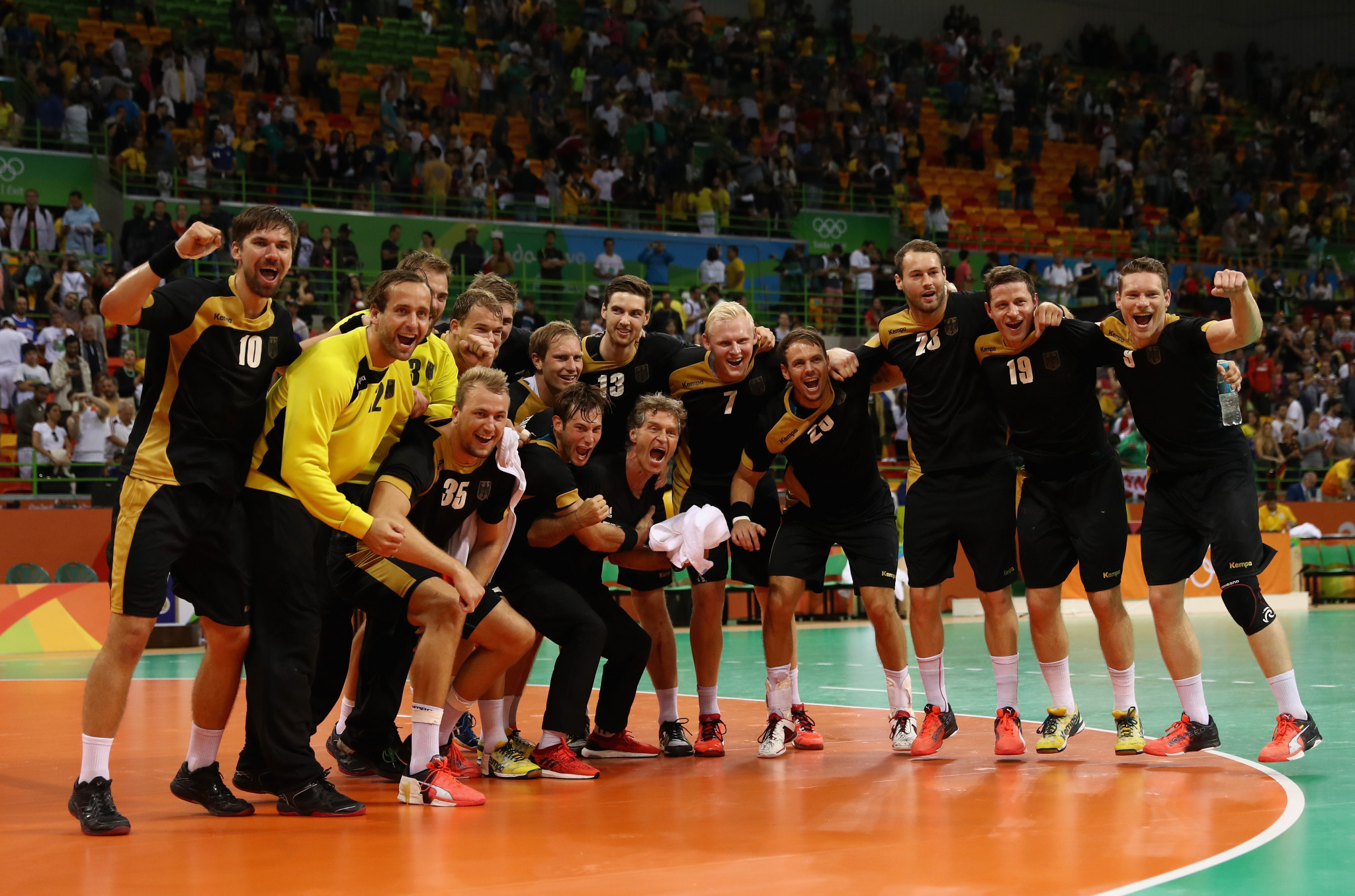 Germany won an Olympic bronze medal in men's handball at Rio 2016 ©Getty Images