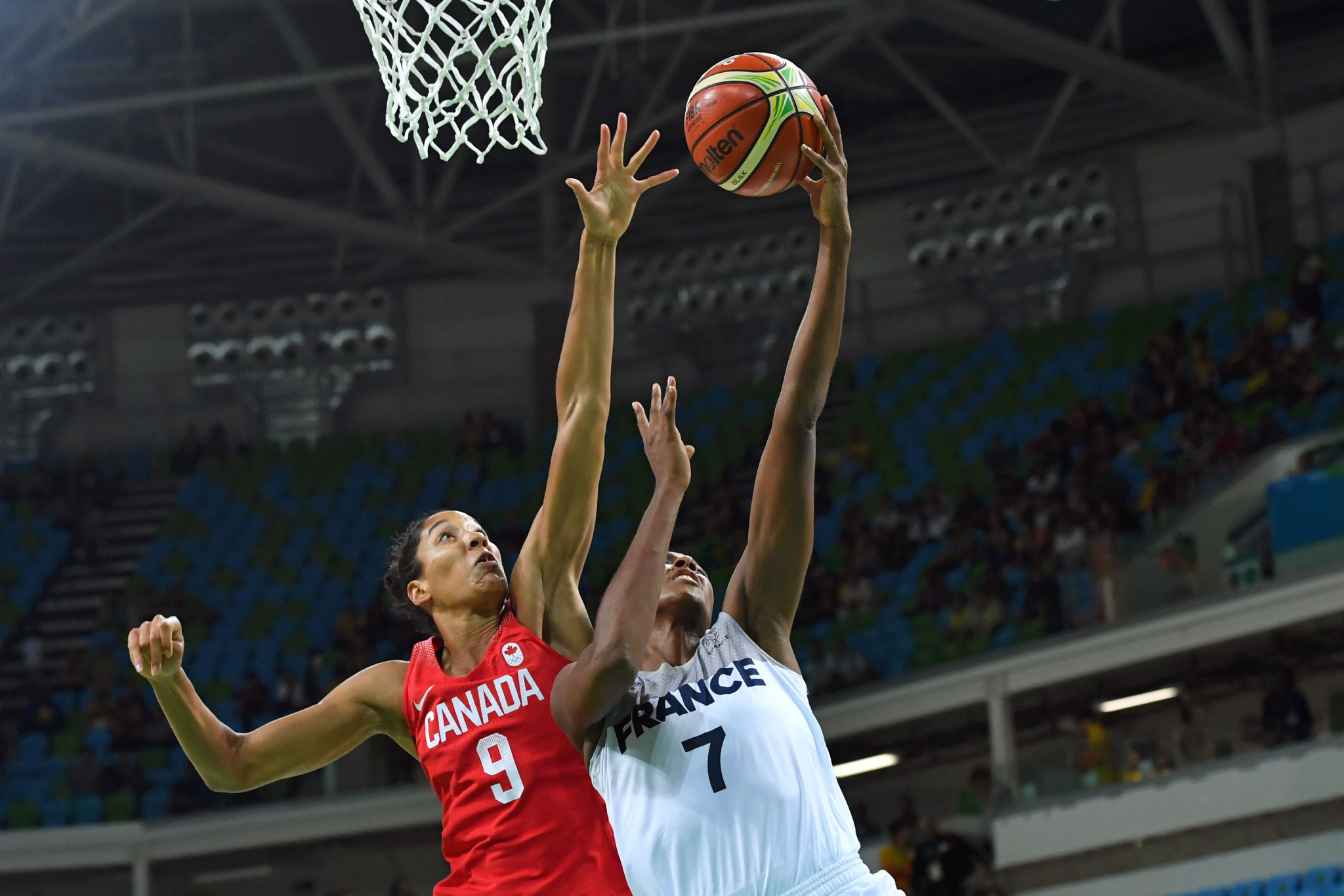 Miranda Ayim is set to make her third and final appearance at the Olympics as part of Canada's women's basketball team ©Getty Images