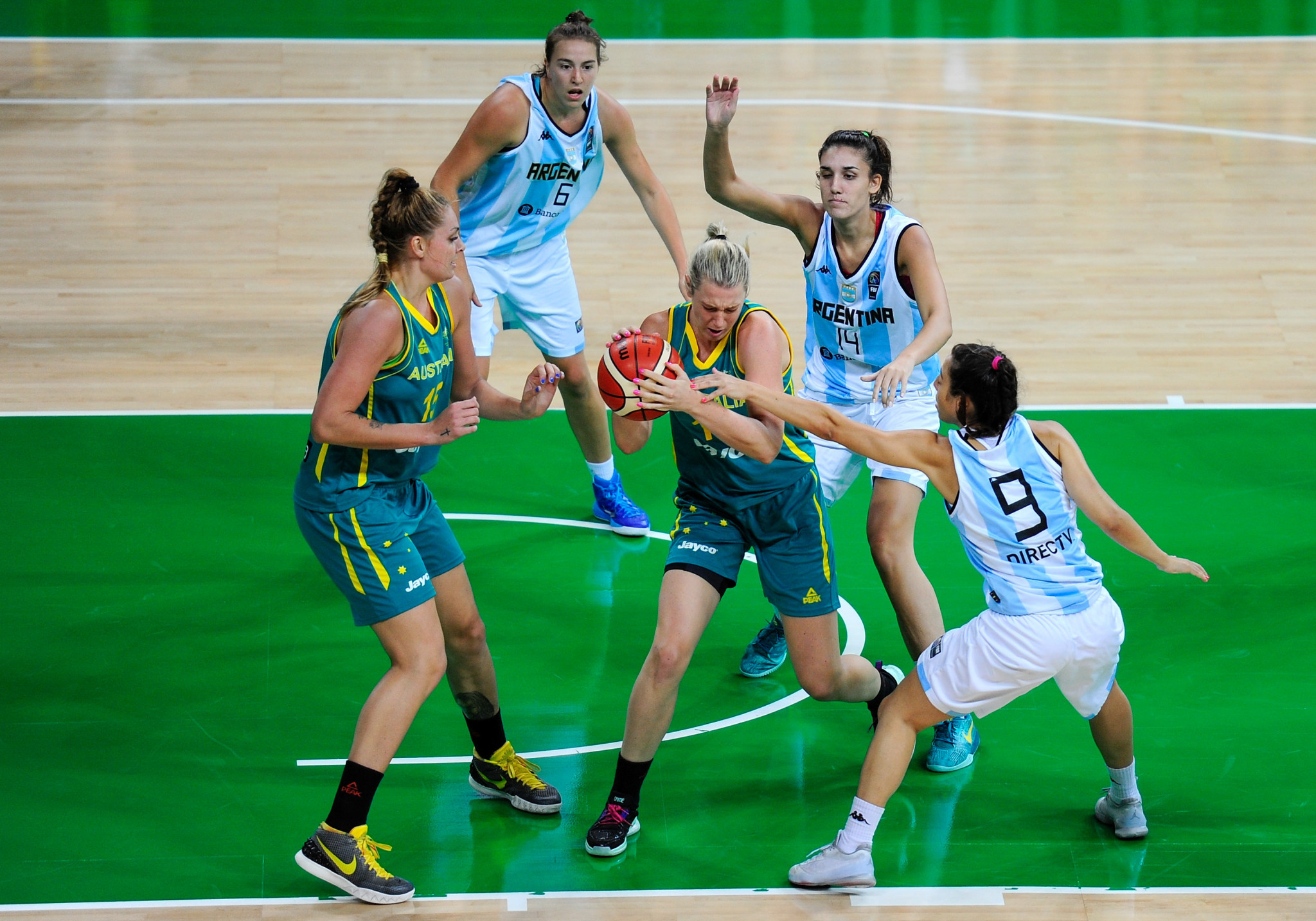 Sara Blicavs is expected to bring versatility to Australia's women's basketball squad as they go in search of their first Olympic medal since London 2012 ©Getty Images