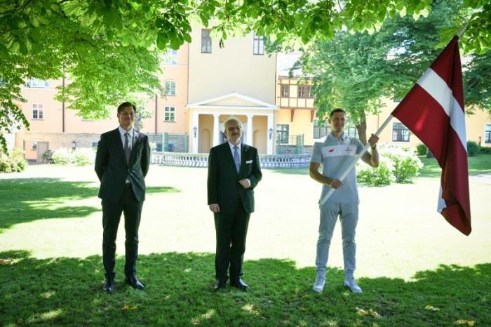 Latvia select Čavars and Ostapenko as Tokyo 2020 flagbearers