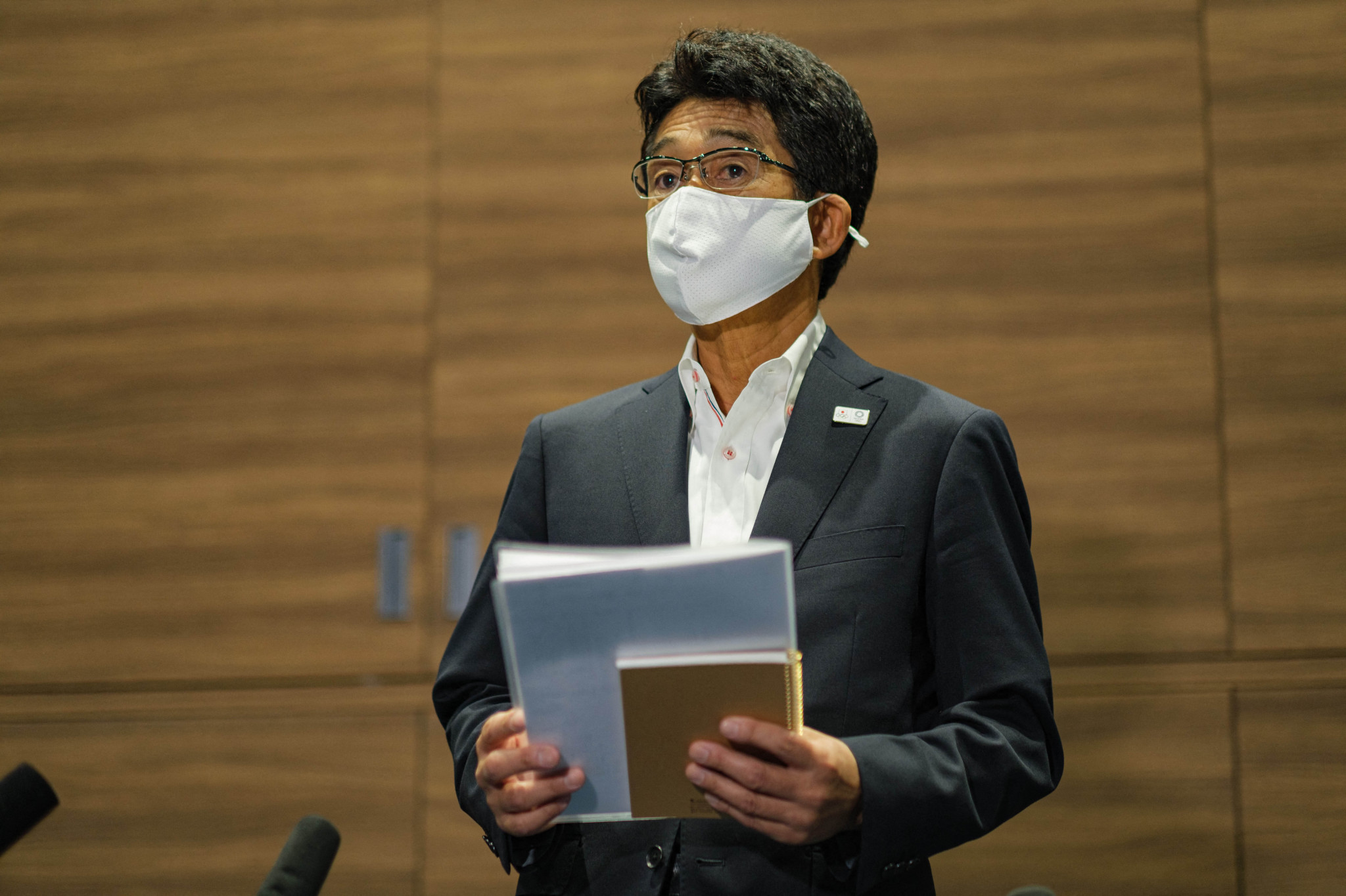 """Japan's Chef de Mission Tsuyoshi Fukui insists there have not been """"any major issues"""" at the Athletes' Village despite at least three athletes there testing positive for COVID-19 ©Getty Images"""