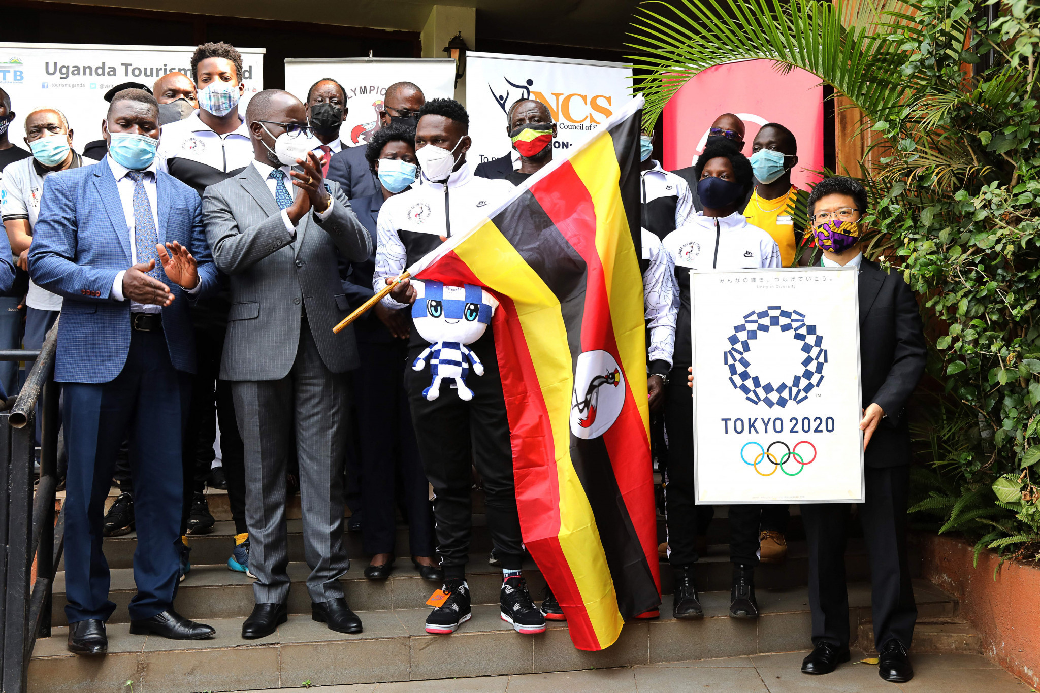 Uganda's Tokyo 2020 team has been the subject of drama before the Games have even begun ©Getty Images