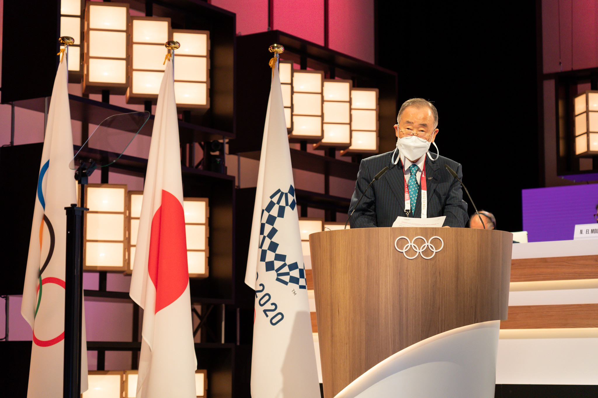 Former UN secretary general re-elected IOC Ethics Commission chair