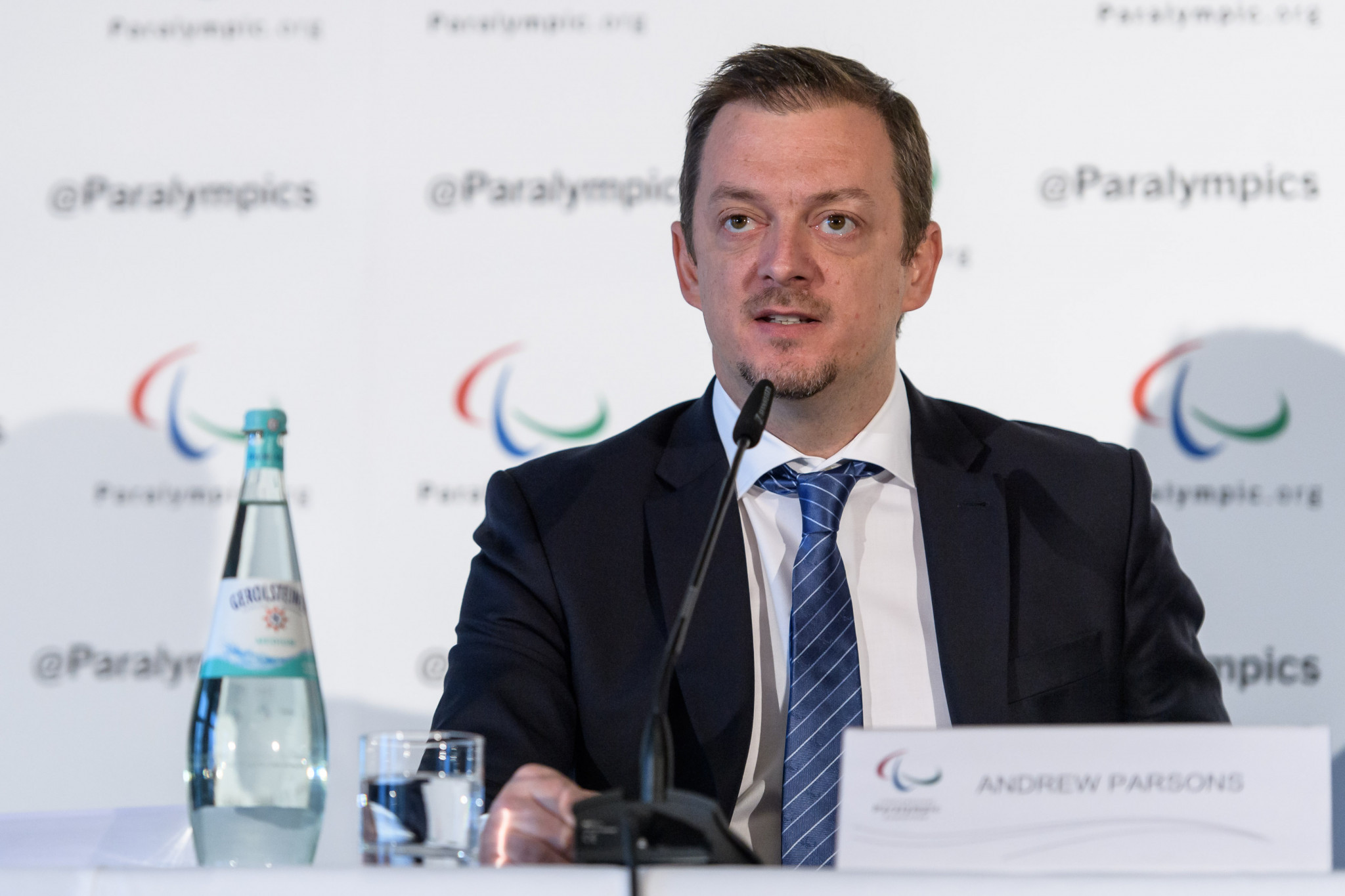 President Andrew Parsons asked for entities interested in taking over Para athletics and Para swimming to contact the IPC ©Getty Images