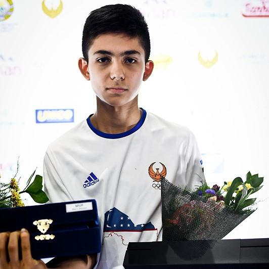 Zafarbek Karimov: Uzbekistan's cadet world champion seeking to emulate Dmitriy Shokin