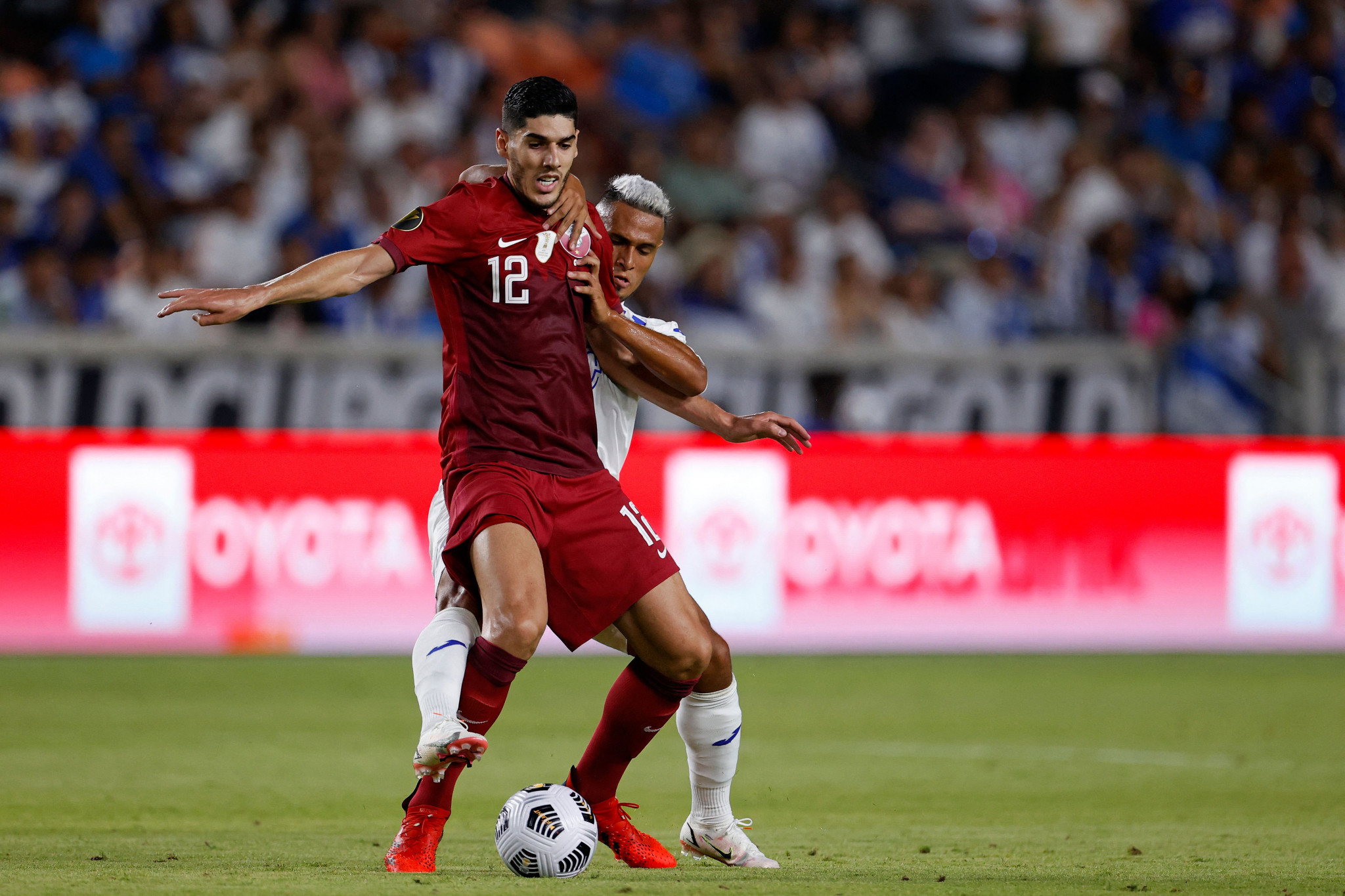 Qatar progress to quarter-finals as Suriname claim first-ever Gold Cup win