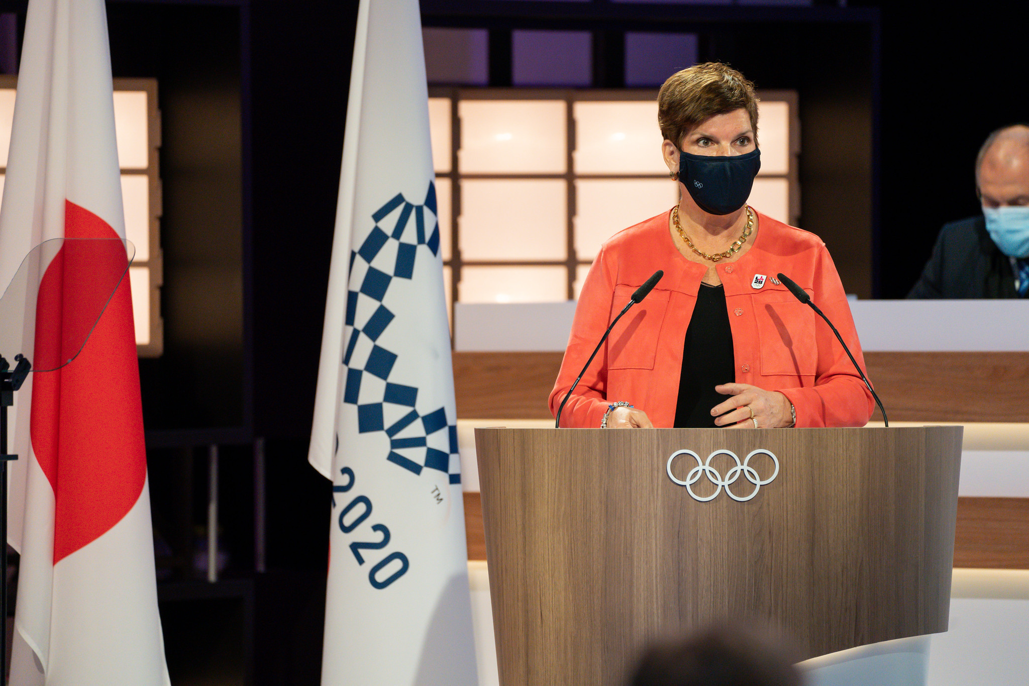 Hoevertsz claims dream has come true after elected IOC vice-president