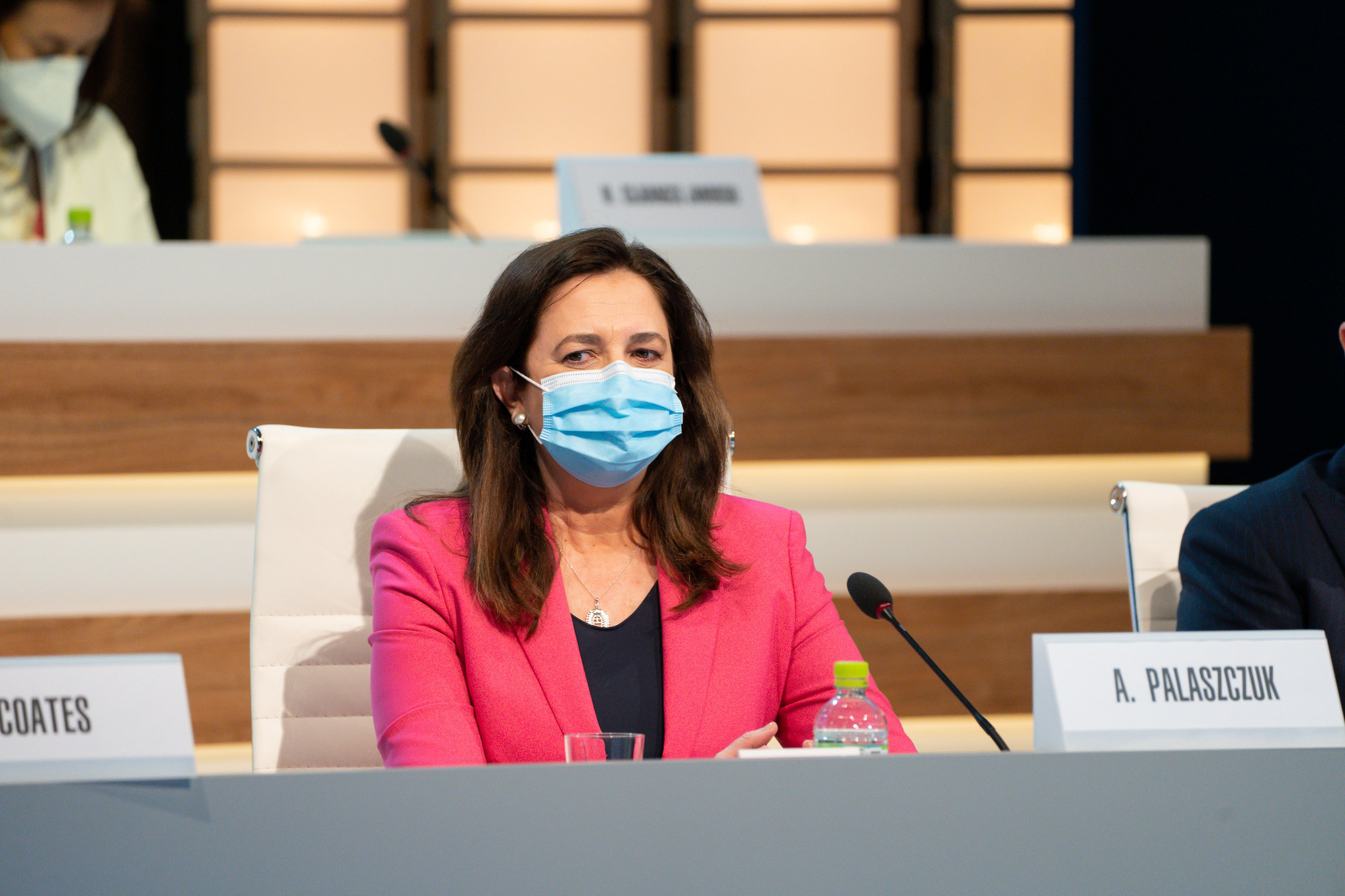 Queensland Premier Annastacia Palaszczuk attended the IOC Session in Tokyo ©IOC