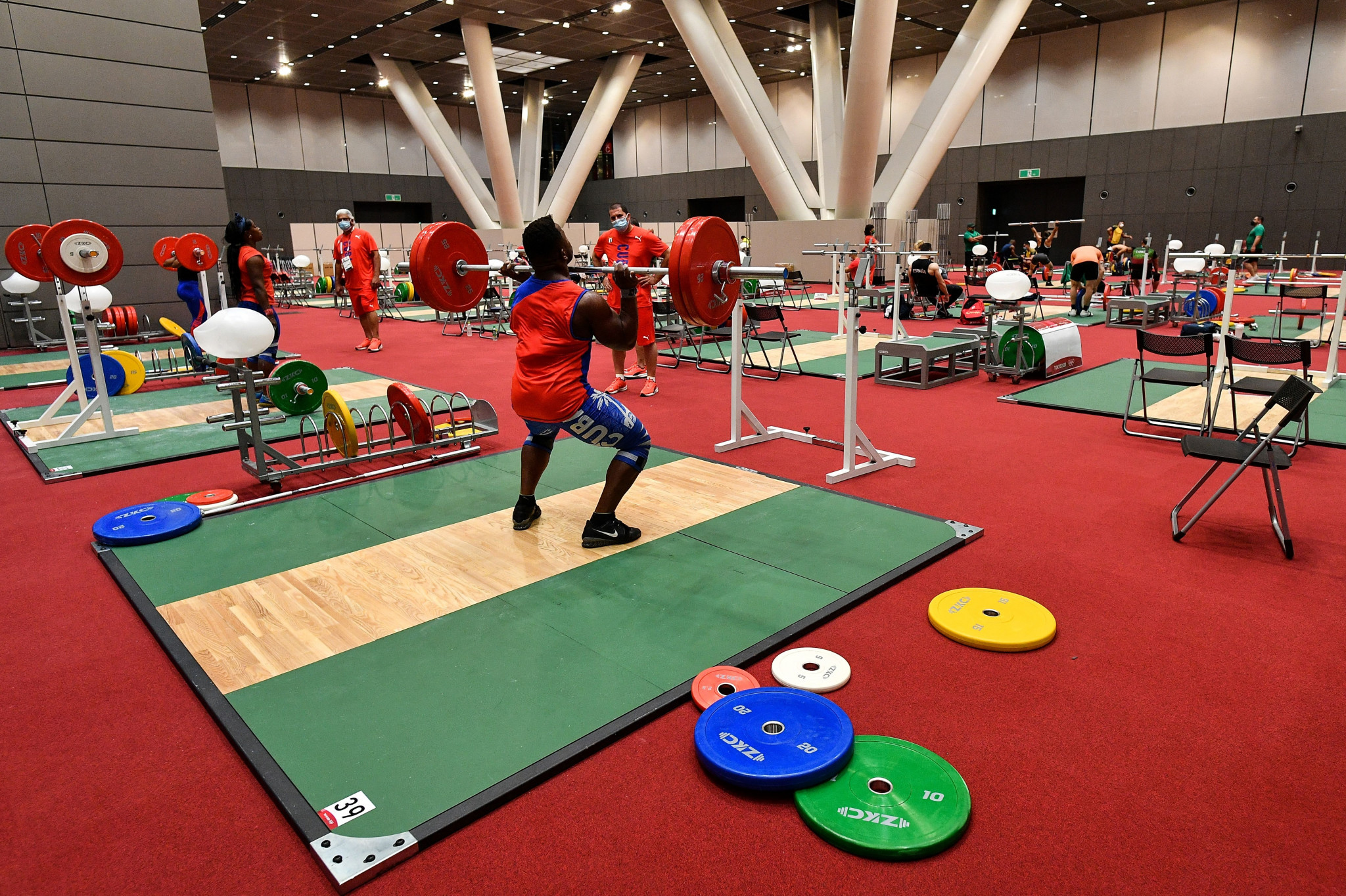 IOC faces legal challenge from Russian weightlifting leader after withdrawing accreditation