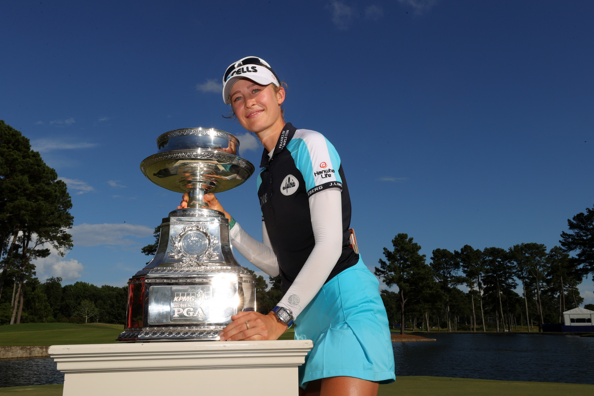 New world number one Nelly Korda triumphed at the Women's PGA Championship last month ©Getty Images