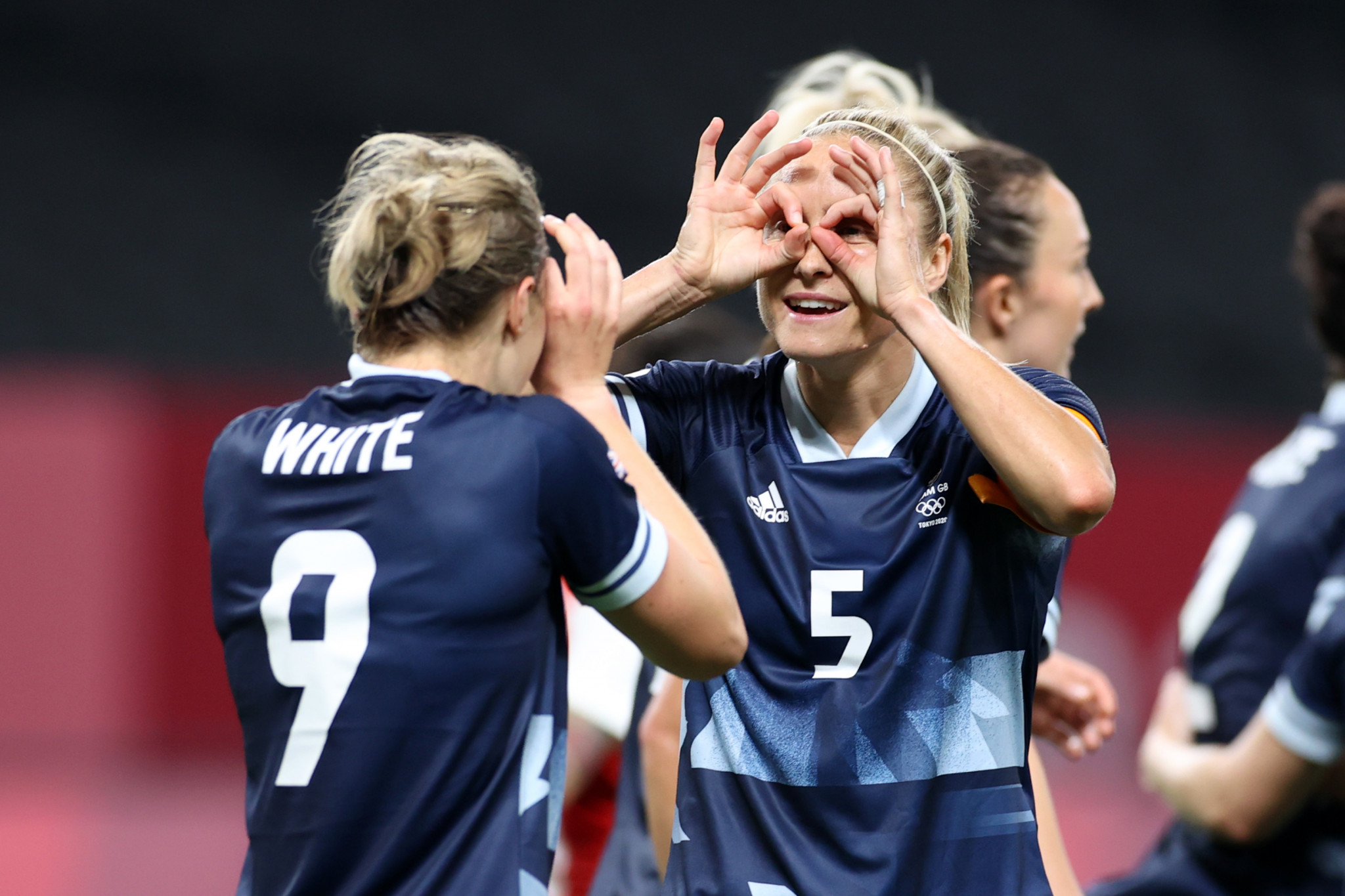 Britain's Ellen White scored twice as her side beat the Chileans 2-0 ©Getty Images