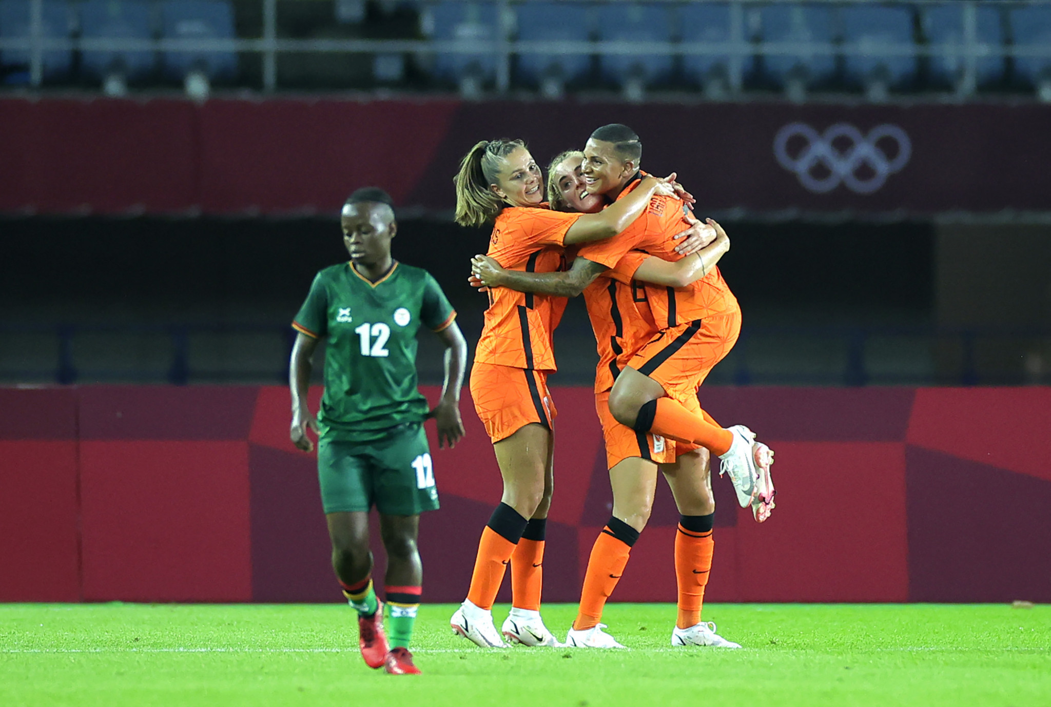 The Netherlands scored 10 goals against Zambia ©Getty Images
