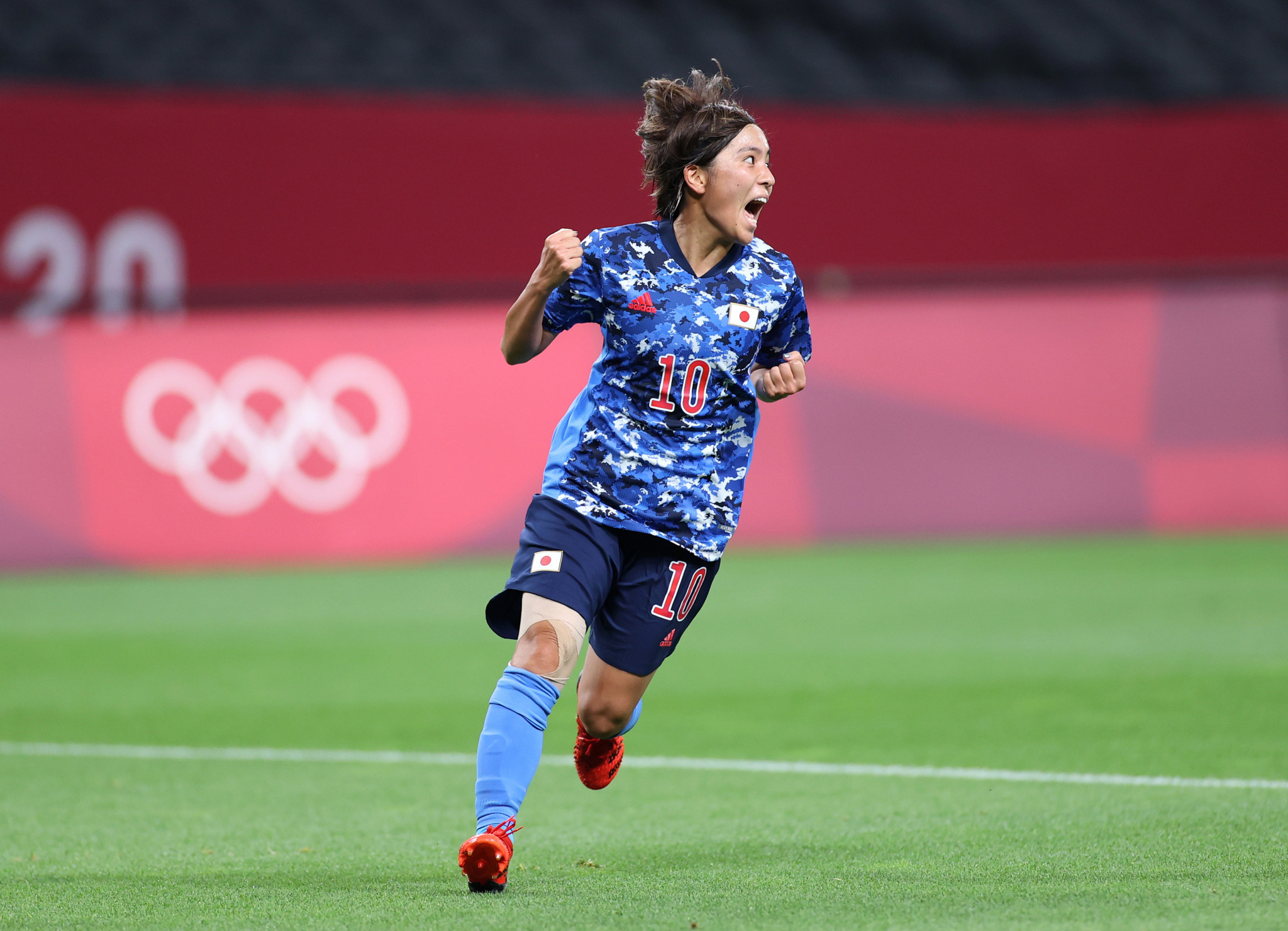 Japan scored late to draw with Canada ©Getty Images