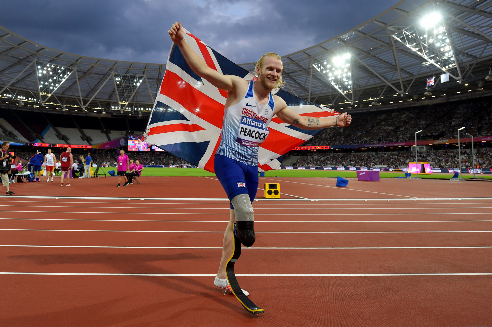 Jonnie Peacock has been selected for the British team at Tokyo 2020 ©Getty Images
