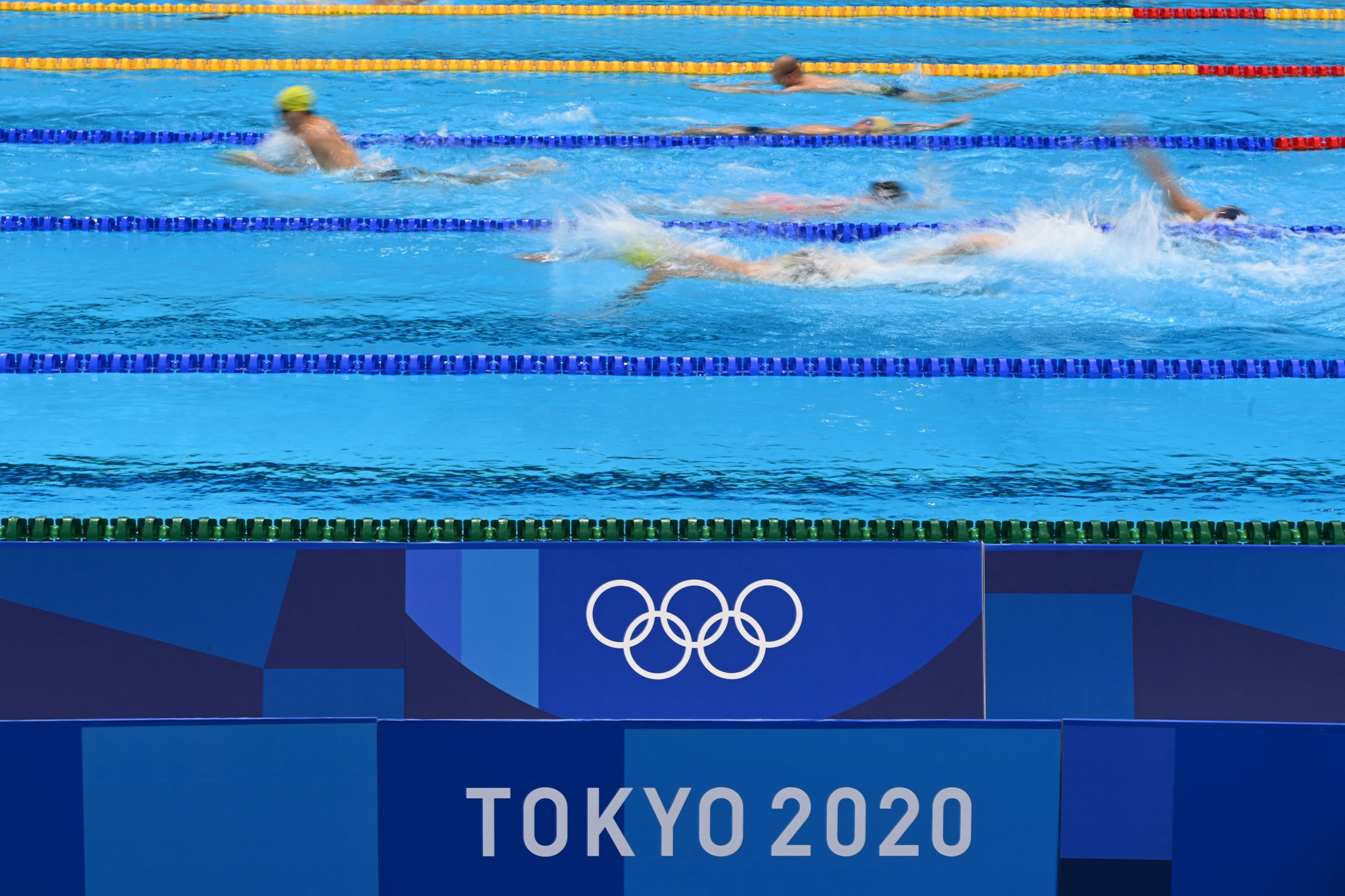Fatoumata Lamarana Toure and Mamadou Tahirou Bah were due to compete in swimming at Tokyo 2020 for Guinea ©Getty Images