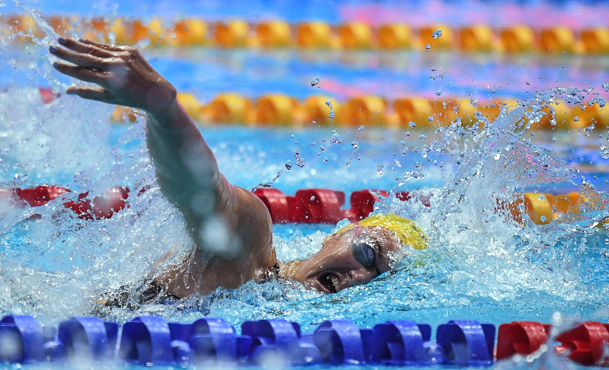 Swimmer Jeanne Boutbien will be Senegal's female flagbearer at the Tokyo 2020 Opening Ceremony ©Getty Images